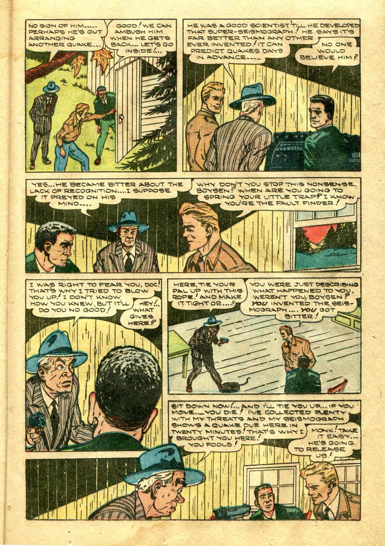 Read online Shadow Comics comic -  Issue #99 - 25
