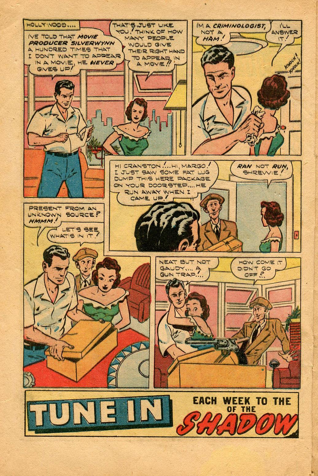 Read online Shadow Comics comic -  Issue #94 - 4