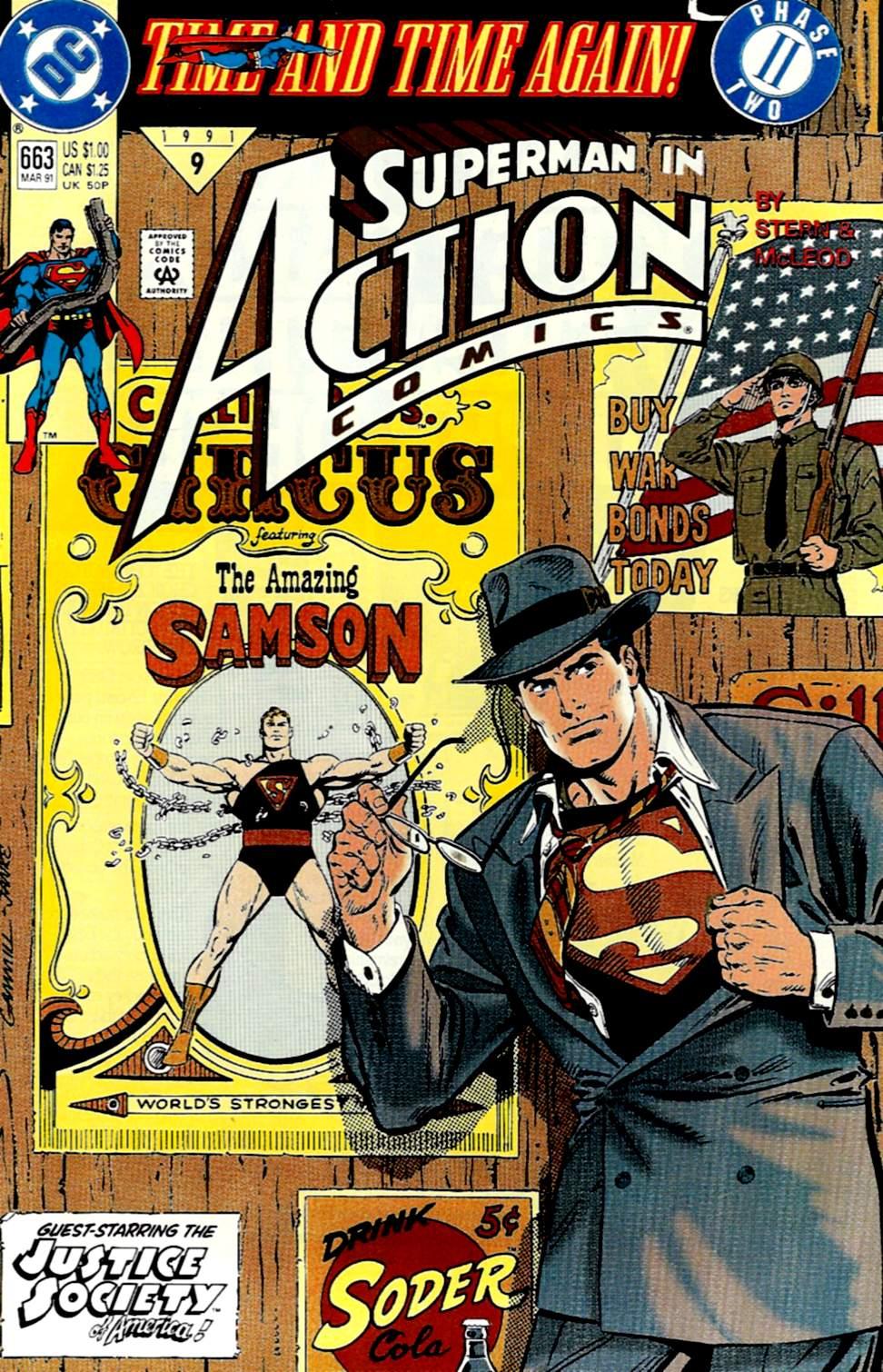 Action Comics (1938) 663 Page 0