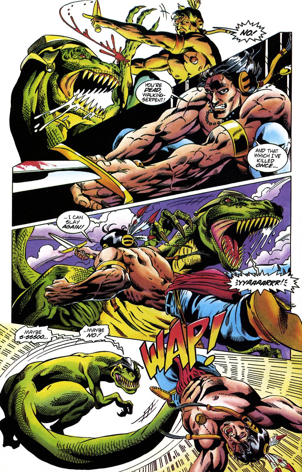 Read online Turok, Dinosaur Hunter (1993) comic -  Issue #36 - 6