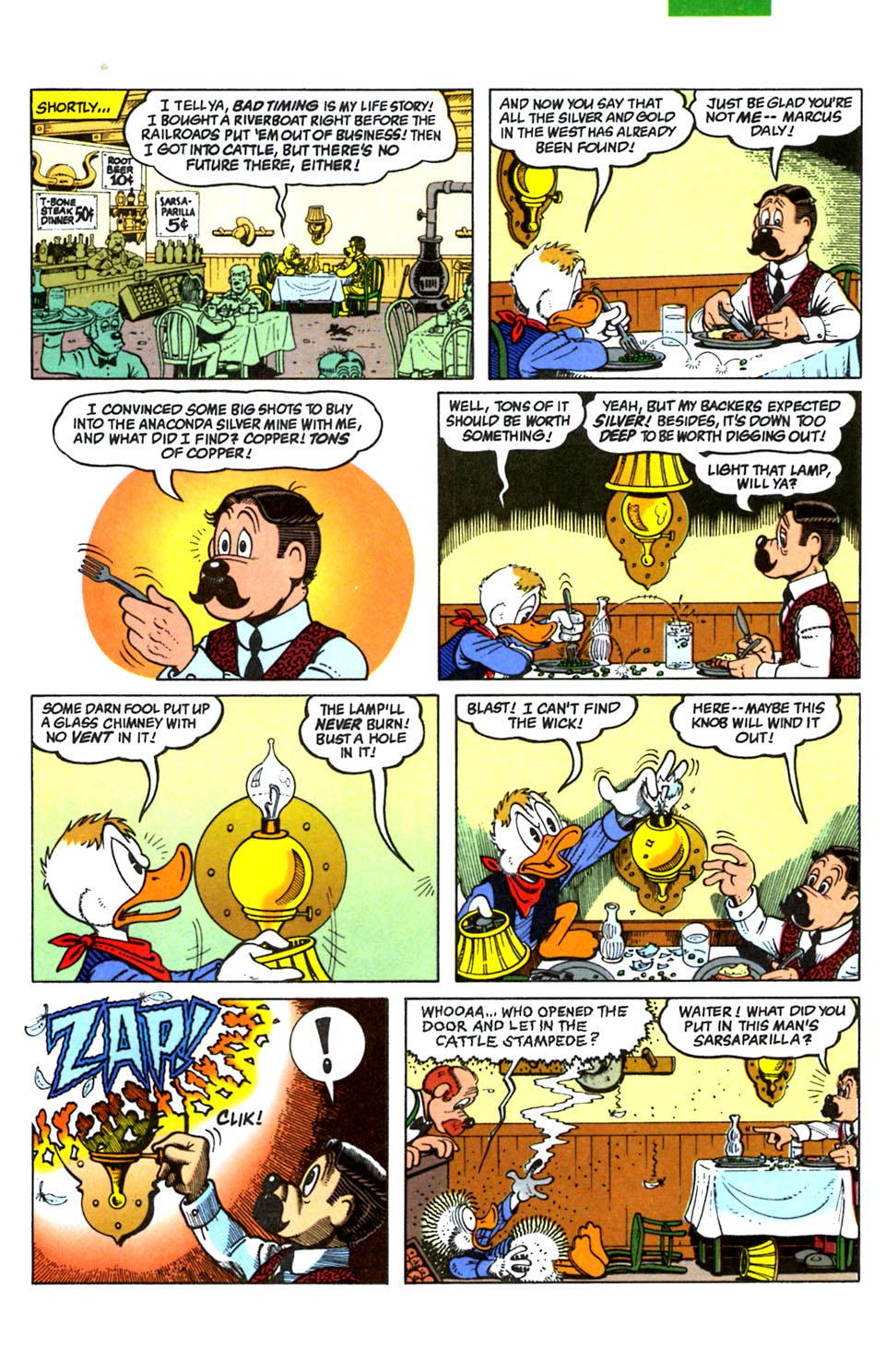 Read online Uncle Scrooge (1953) comic -  Issue #288 - 5