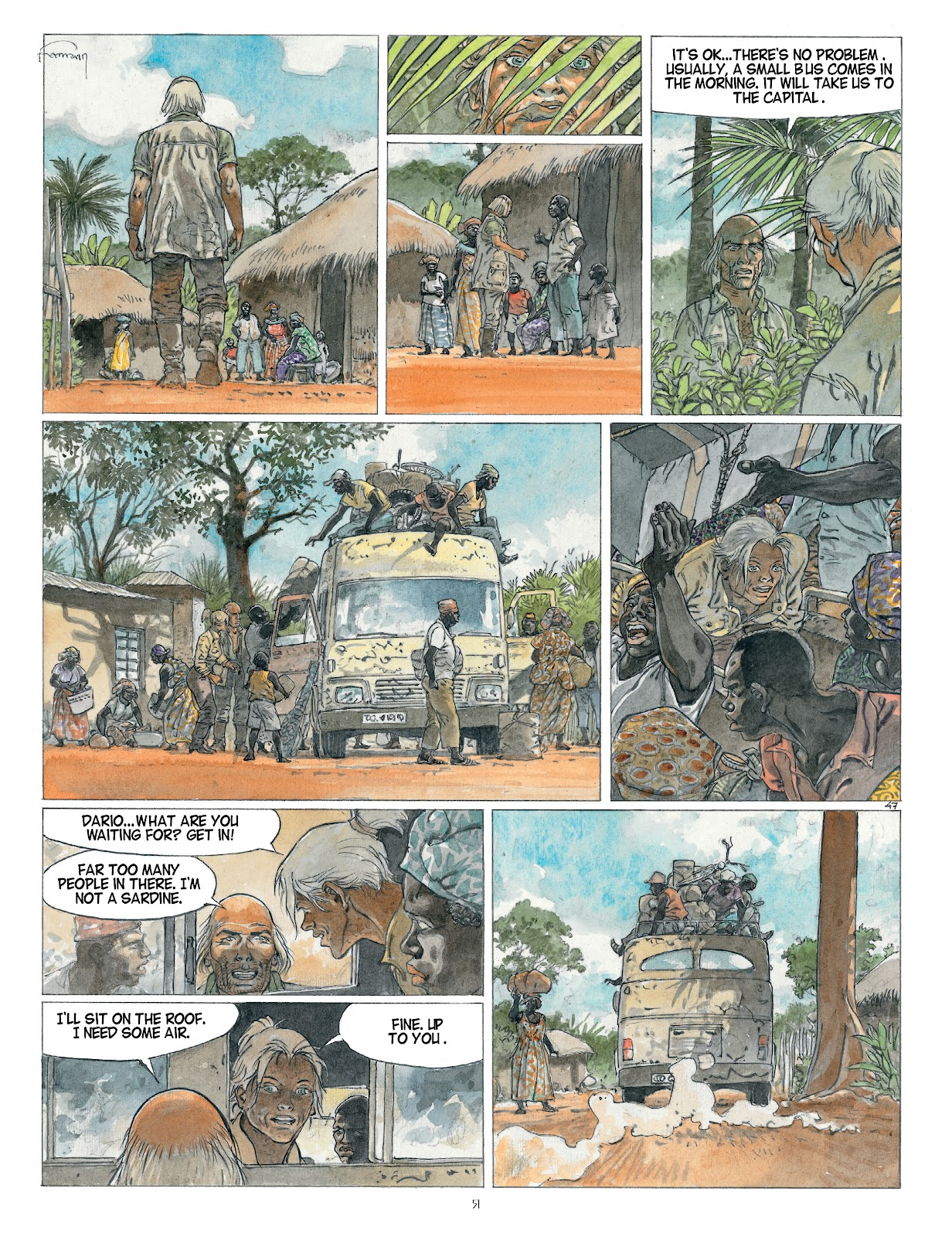 Read online Afrika comic -  Issue # TPB - 51