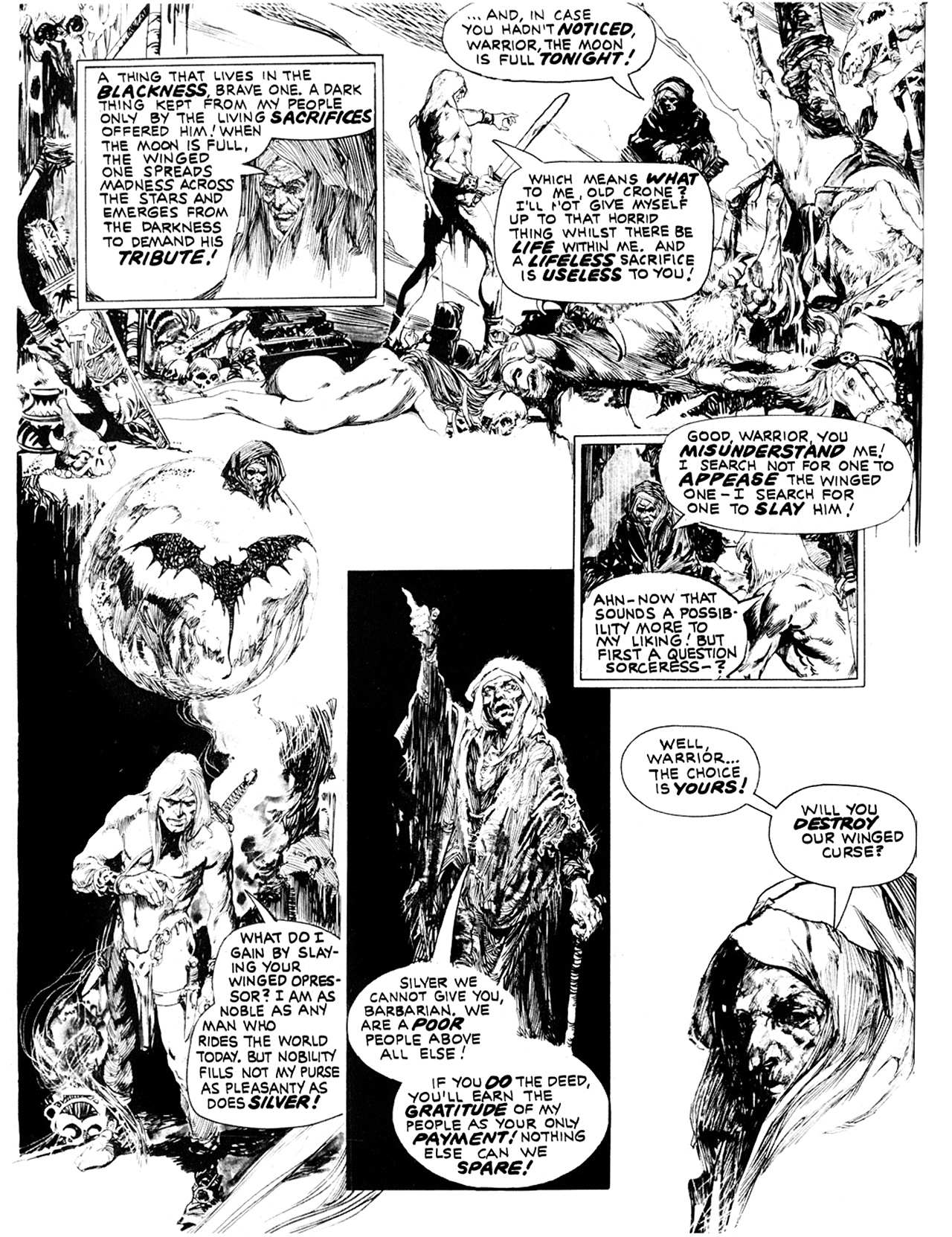 Read online Eerie Archives comic -  Issue # TPB 10 - 129