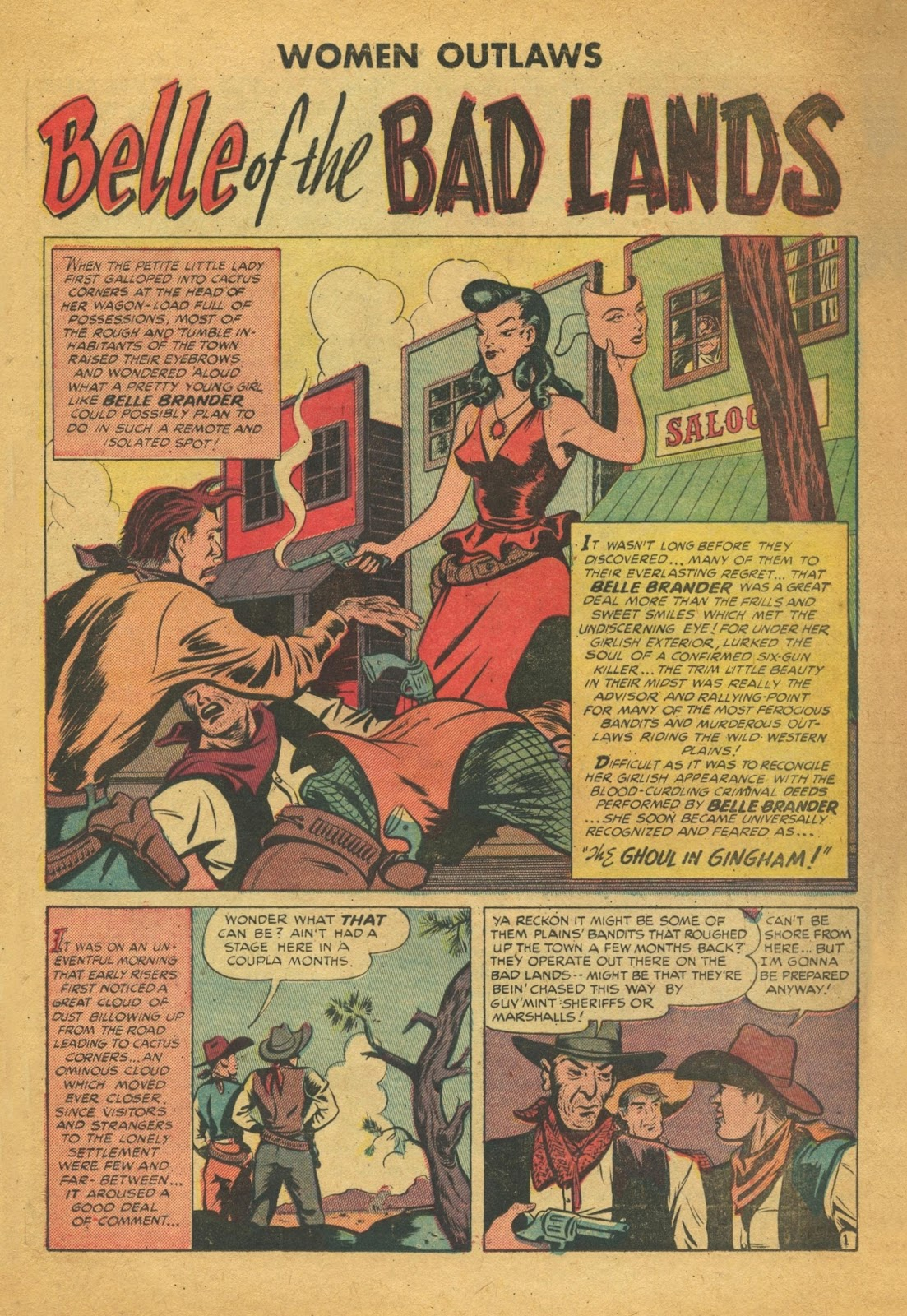 Read online Women Outlaws comic -  Issue #6 - 22