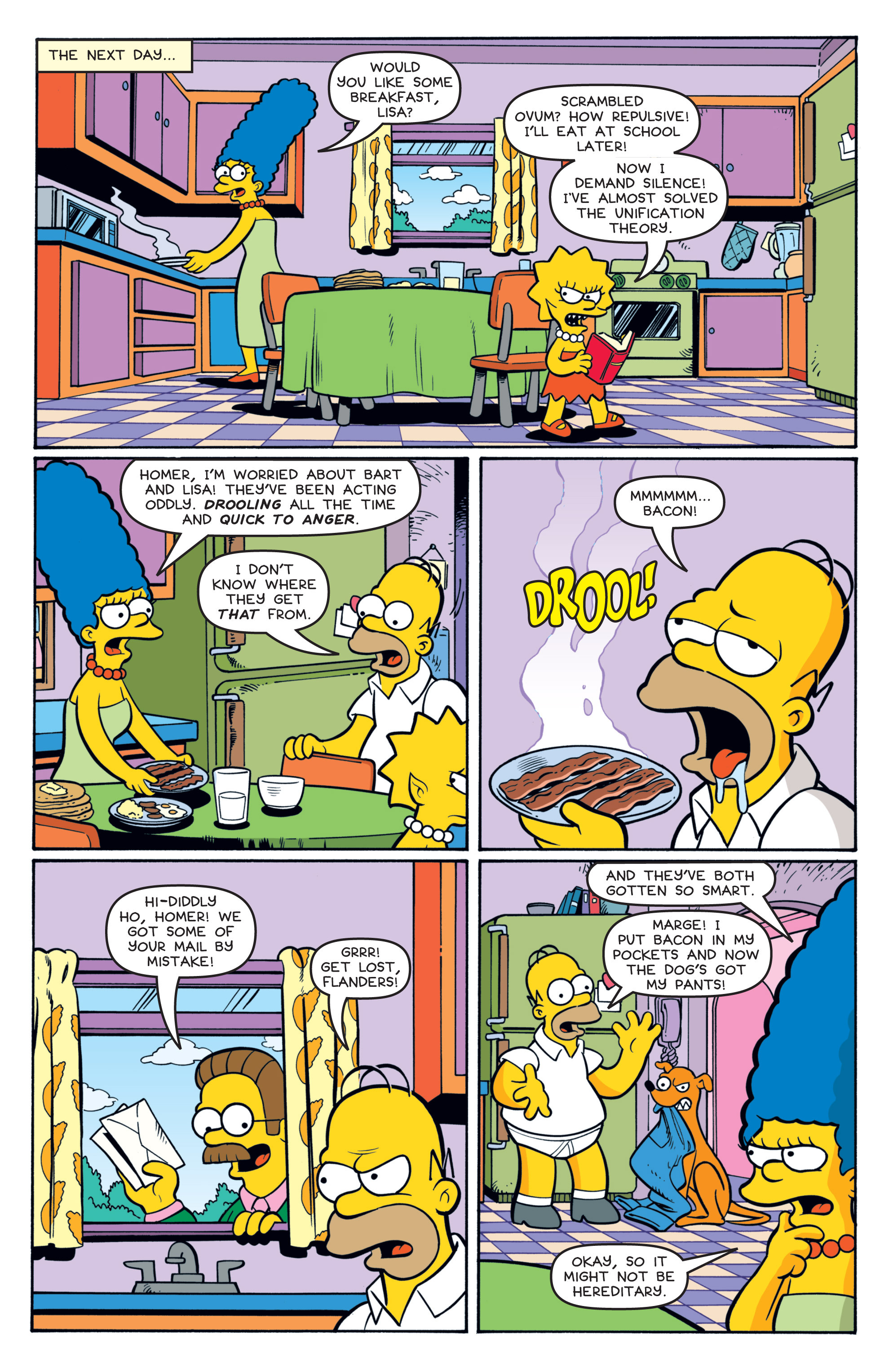Read online Treehouse of Horror comic -  Issue #19 - 17