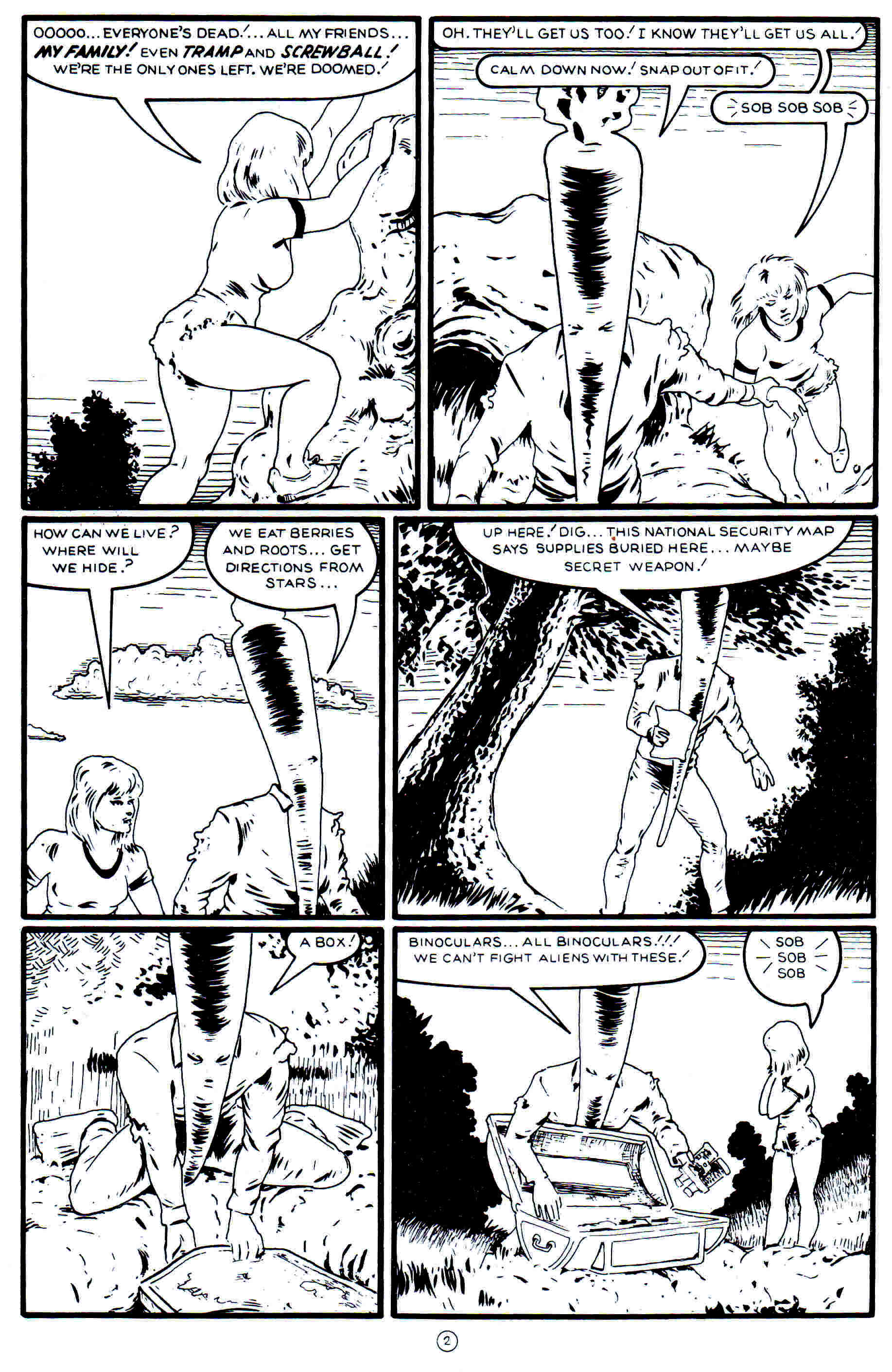 Read online Flaming Carrot Comics (1988) comic -  Issue #21 - 4