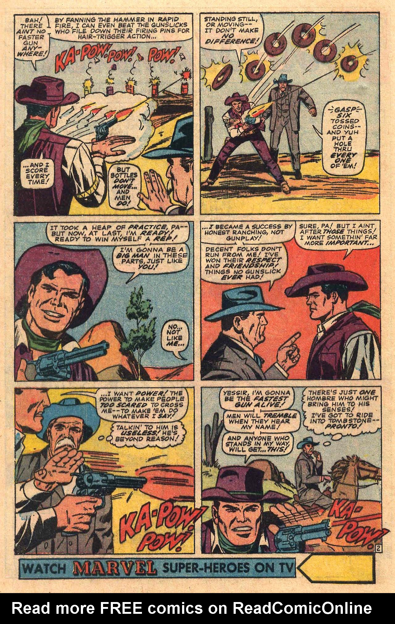 Read online Two-Gun Kid comic -  Issue #84 - 4