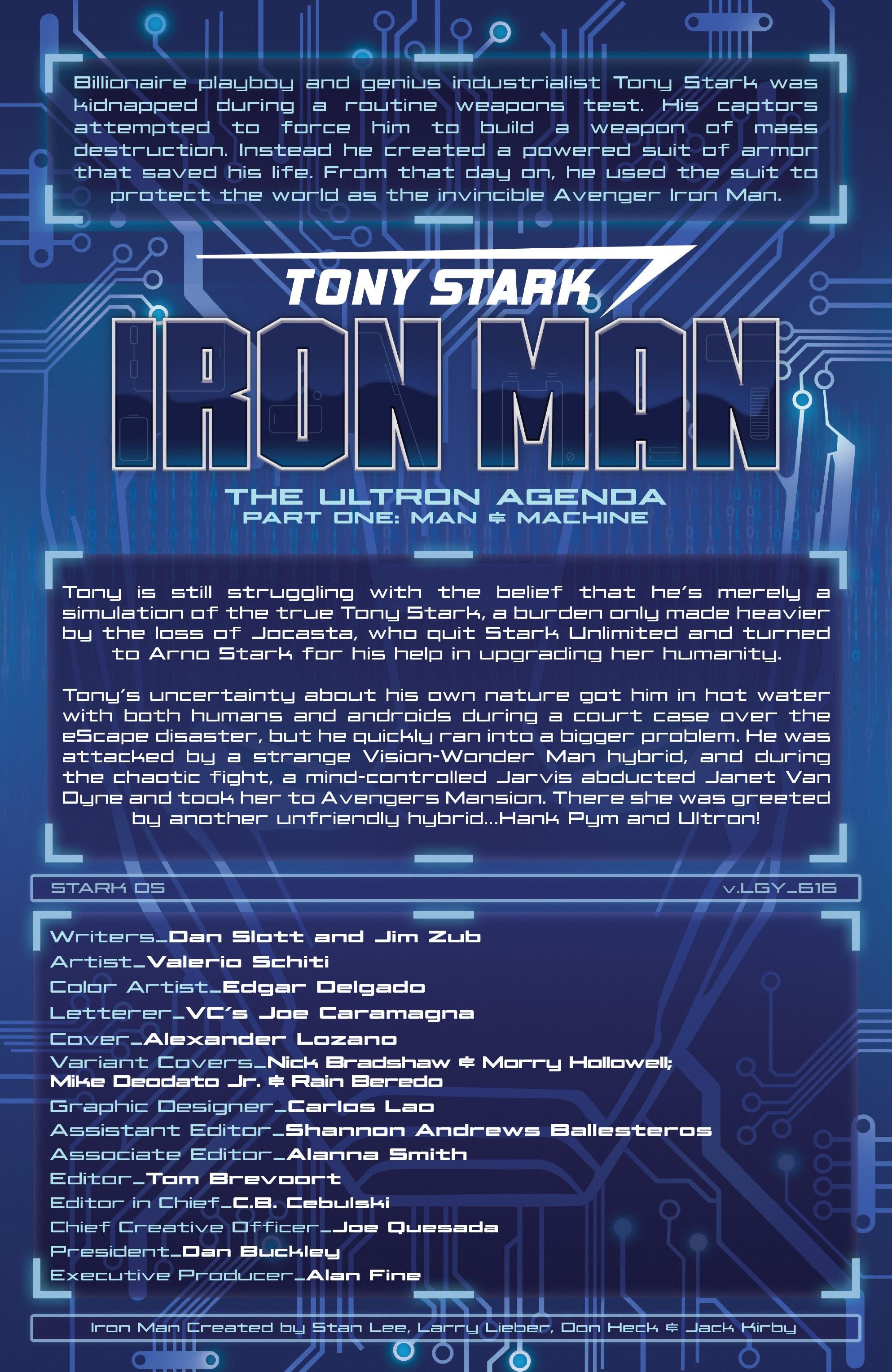Read online Tony Stark: Iron Man comic -  Issue #16 - 4