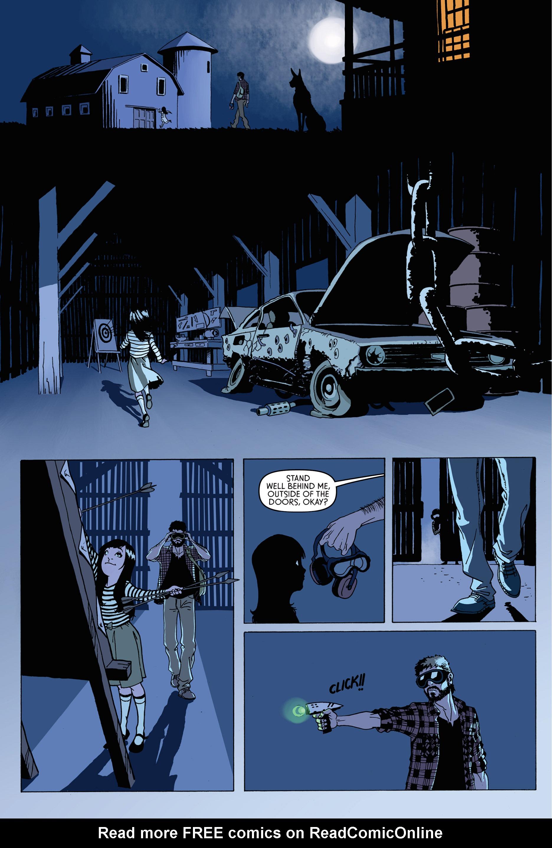 Read online Trespasser comic -  Issue #1 - 14
