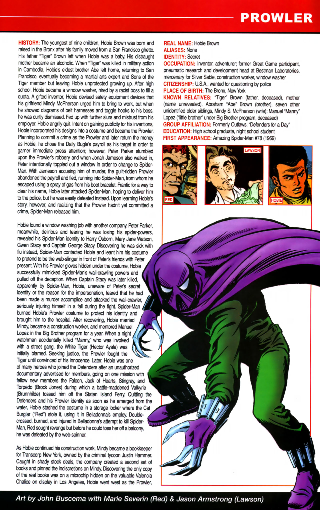 Read online All-New Official Handbook of the Marvel Universe A to Z comic -  Issue #8 - 61