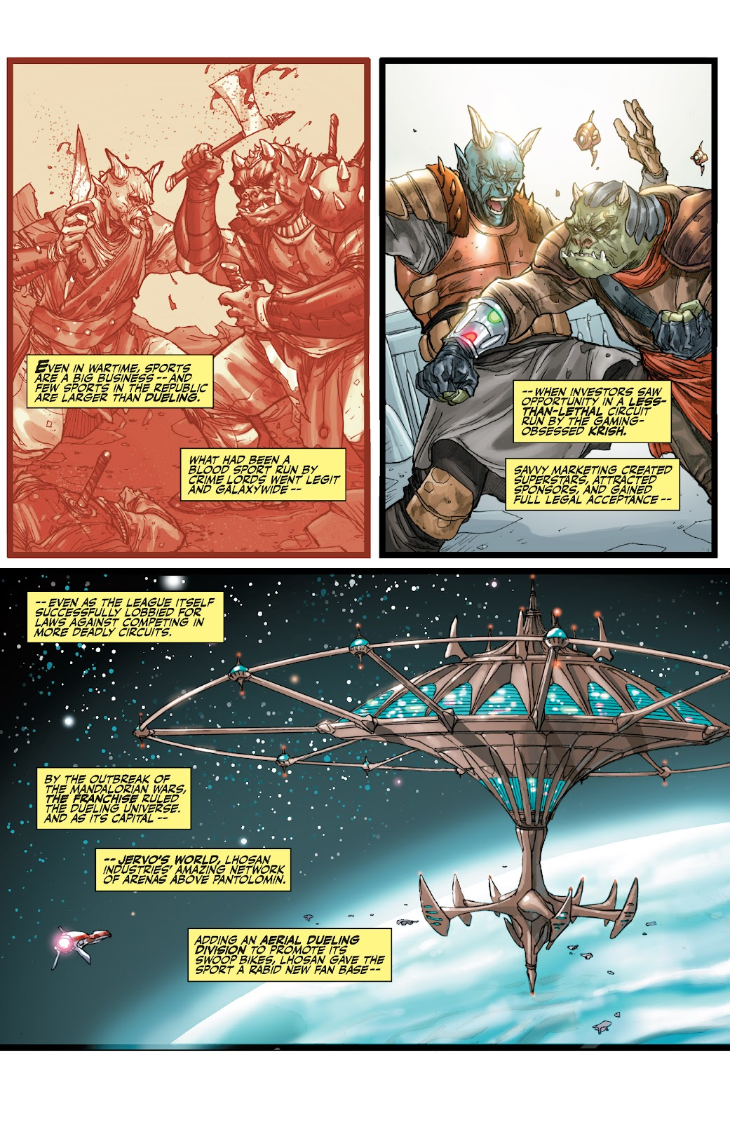 Read online Star Wars Legends: The Old Republic - Epic Collection comic -  Issue # TPB 3 (Part 1) - 35