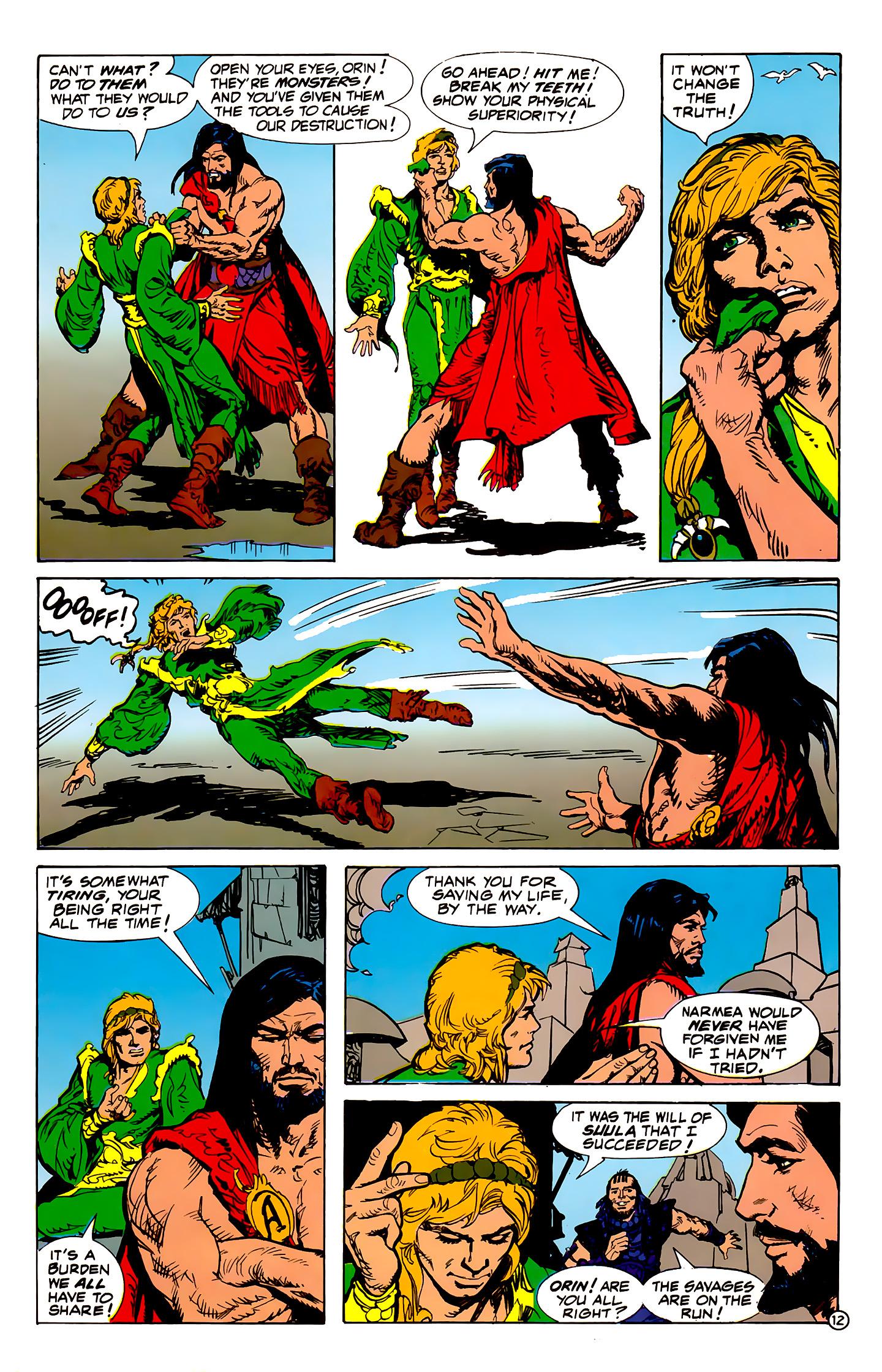 Read online Atlantis Chronicles comic -  Issue #1 - 12