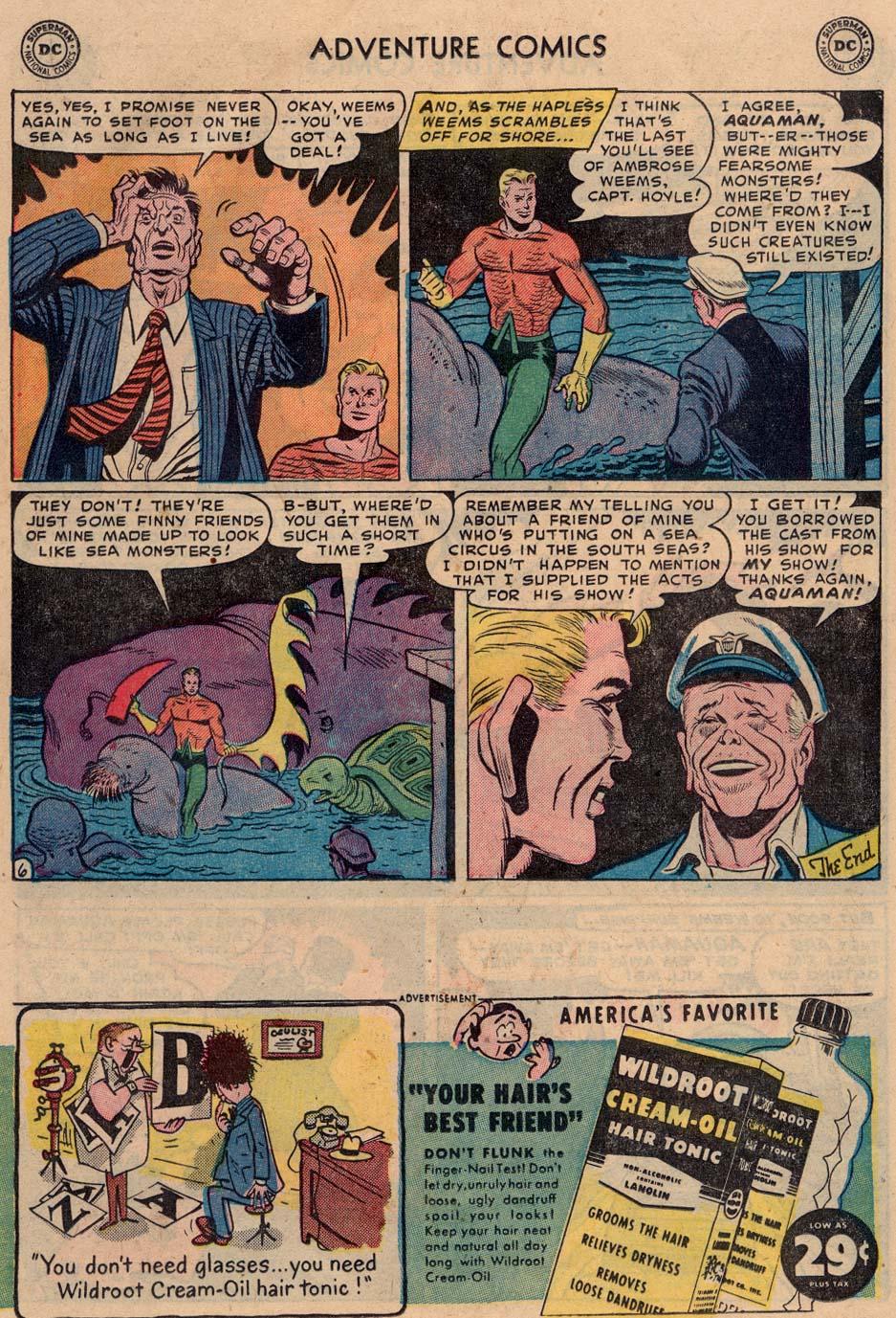 Read online Adventure Comics (1938) comic -  Issue #186 - 22