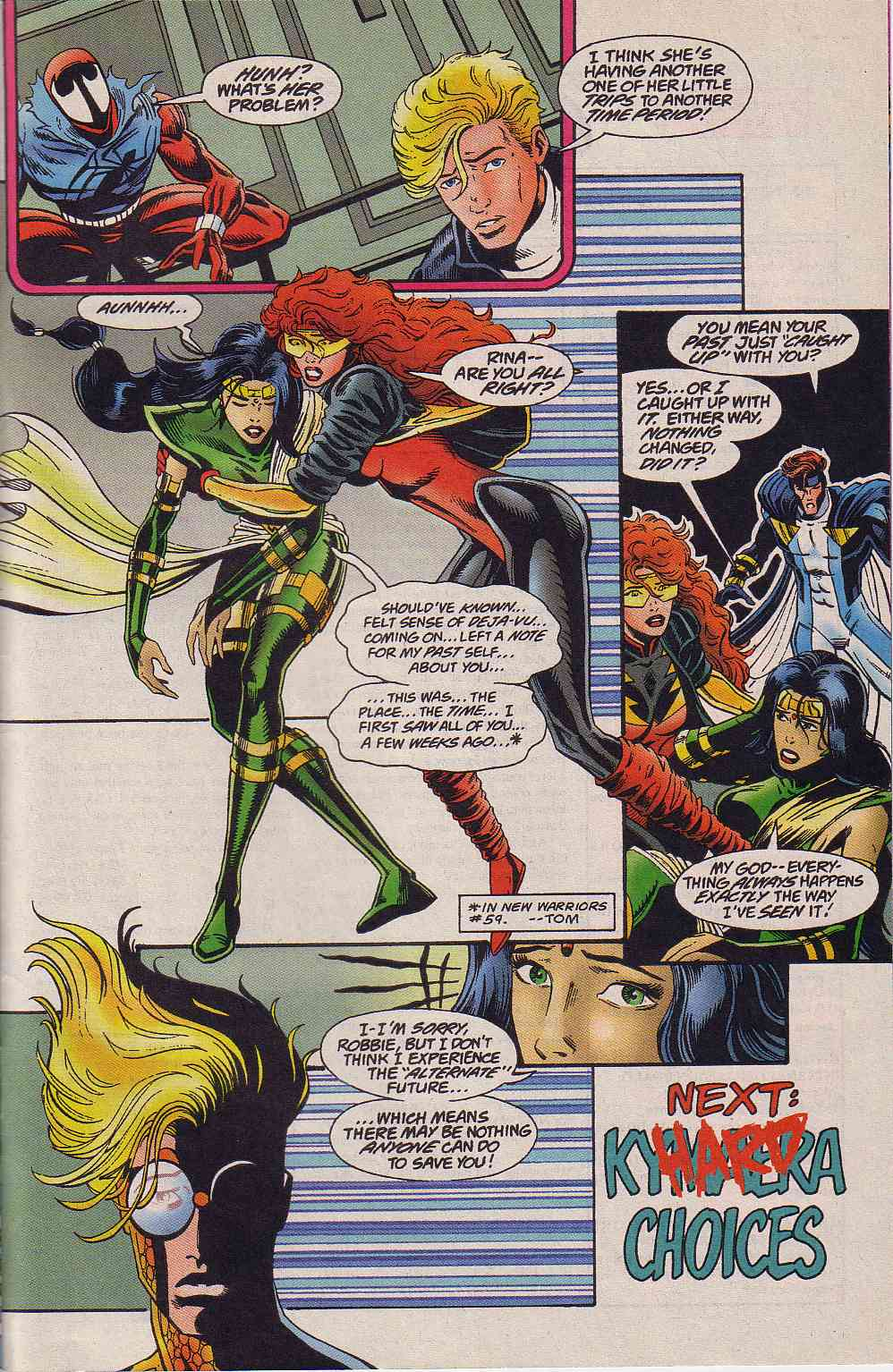 The New Warriors Issue #64 #68 - English 23