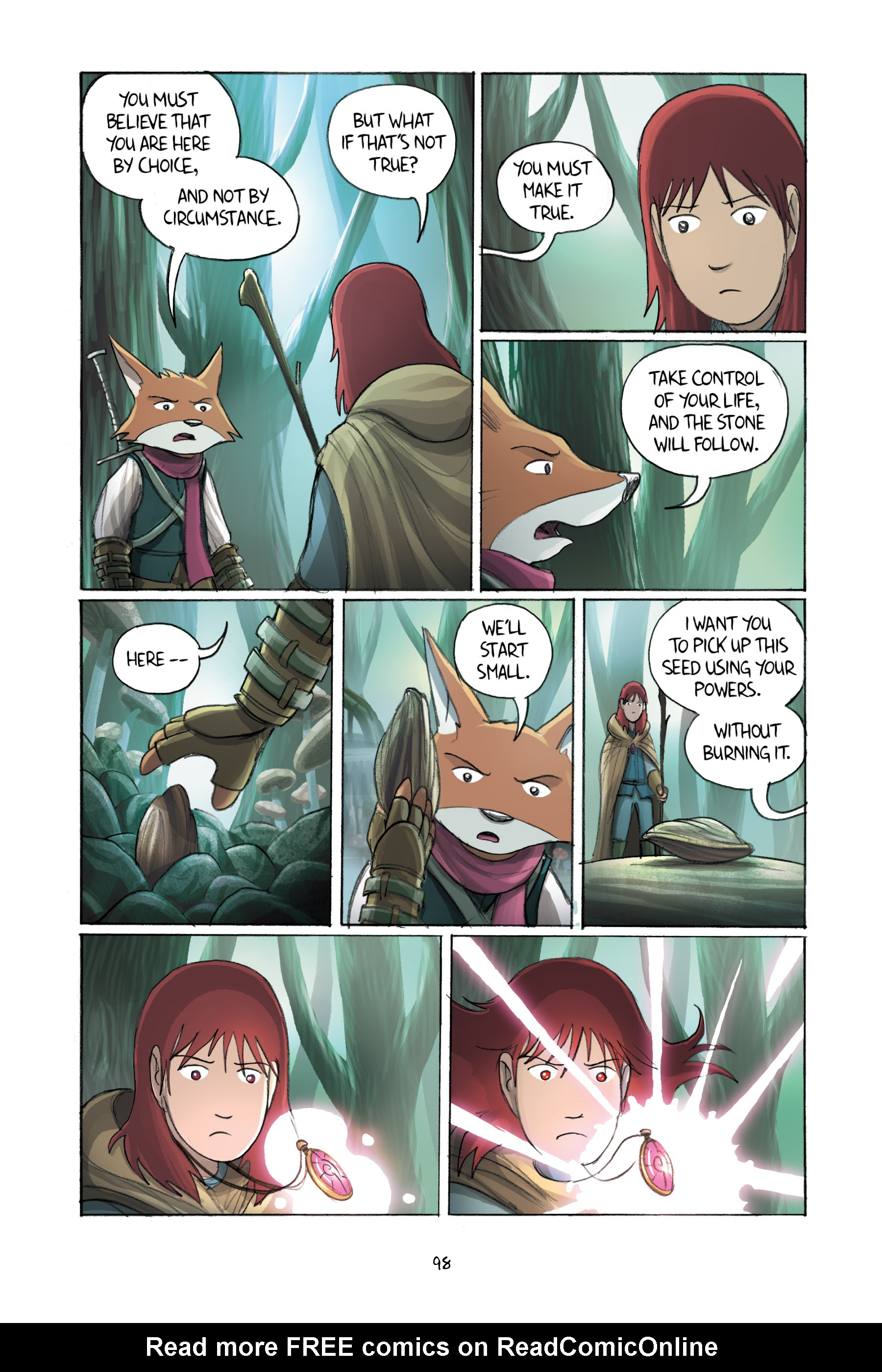 Read online Amulet comic -  Issue #2 - 98
