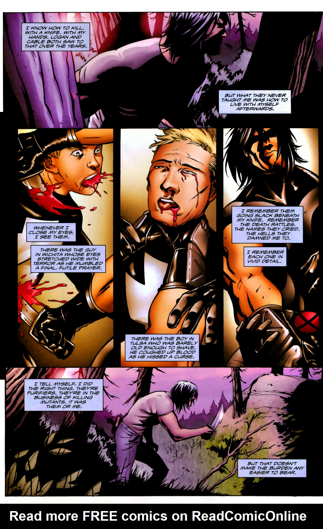 Read online X-Force Special: Ain't No Dog comic -  Issue # Full - 27