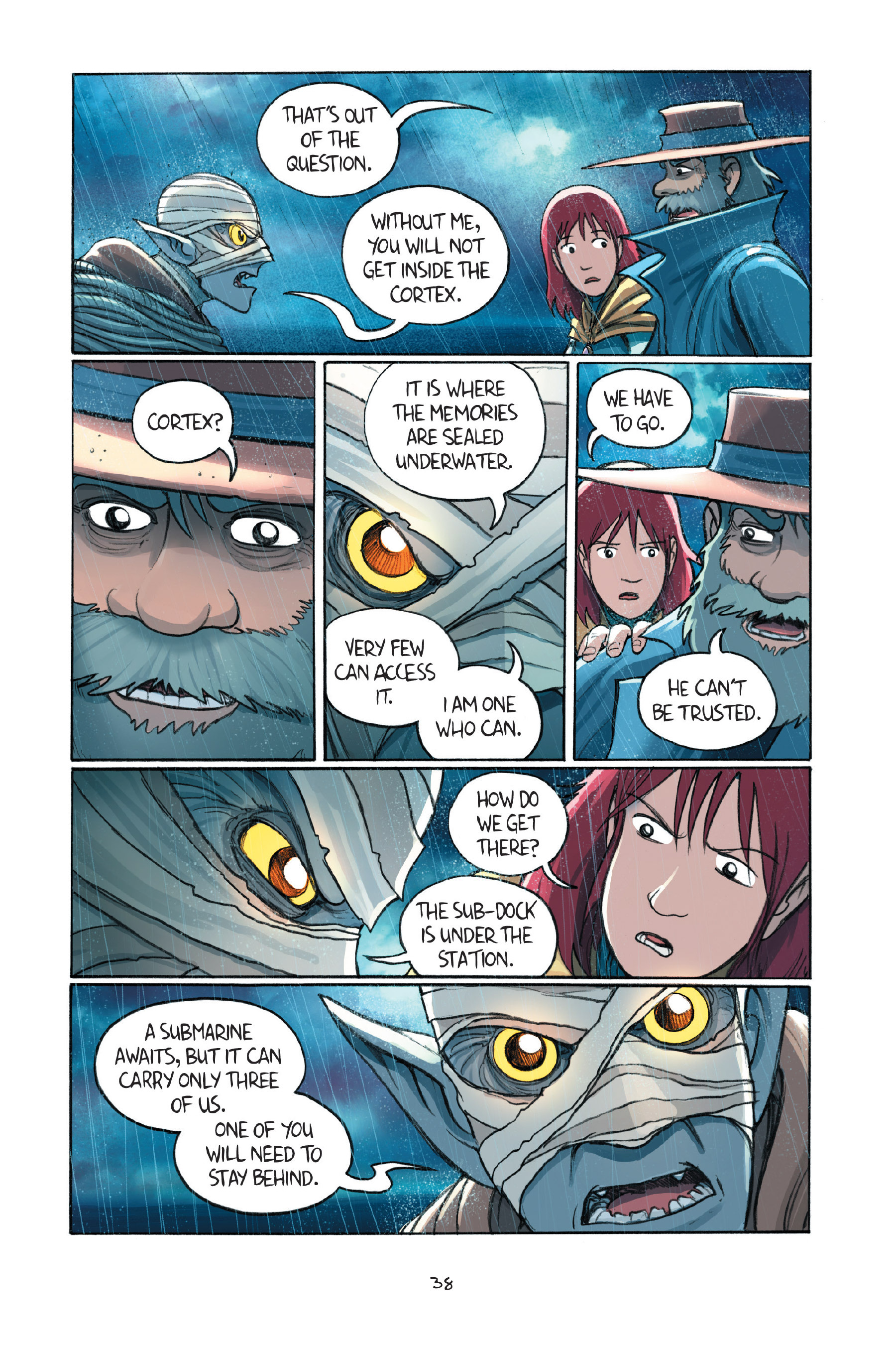 Read online Amulet comic -  Issue #7 - 41