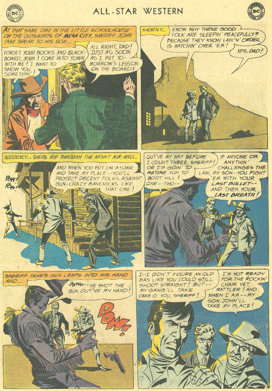 Read online All-Star Western (1951) comic -  Issue #113 - 5