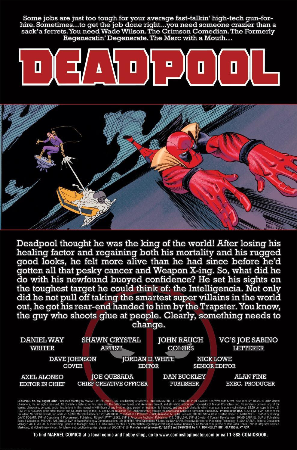 Read online Deadpool (2008) comic -  Issue #56 - 2