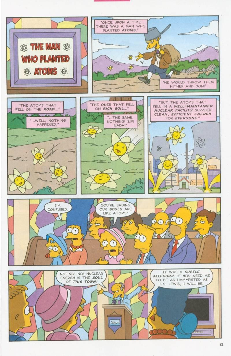 Read online Simpsons Comics comic -  Issue #69 - 12