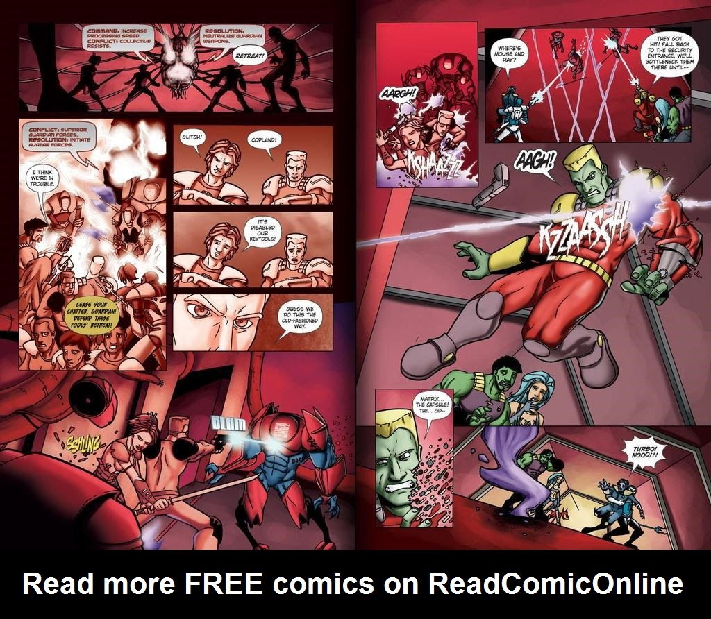 Read online ReBoot: Paradigms Lost comic -  Issue # Full - 18