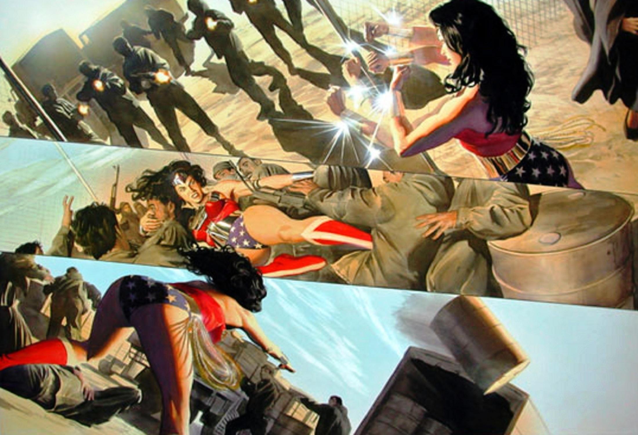 Read online Wonder Woman: Spirit of Truth comic -  Issue # Full - 64