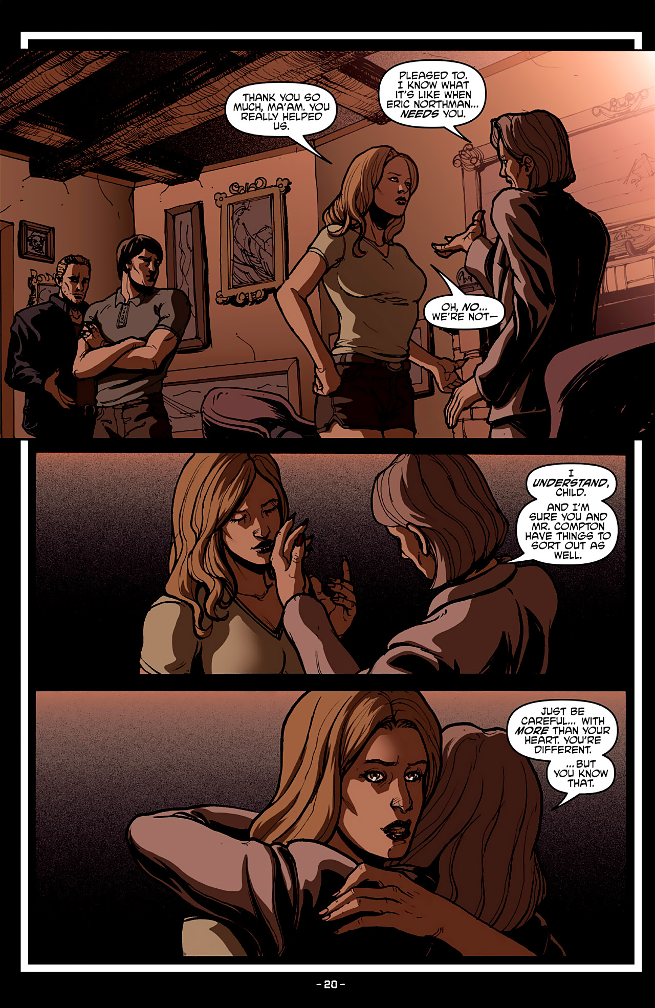 Read online True Blood: French Quarter comic -  Issue #4 - 24