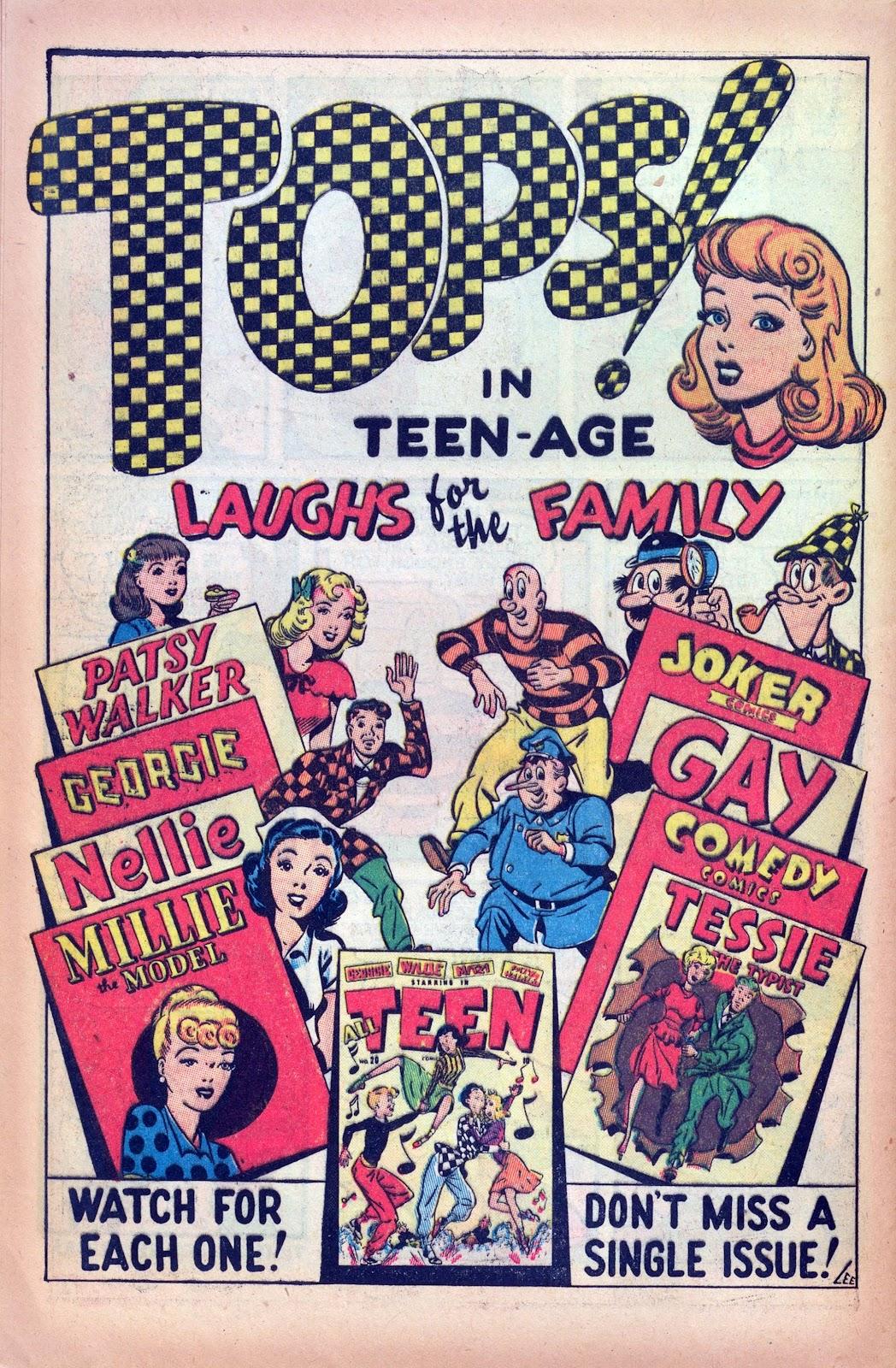 Read online Joker Comics comic -  Issue #26 - 40