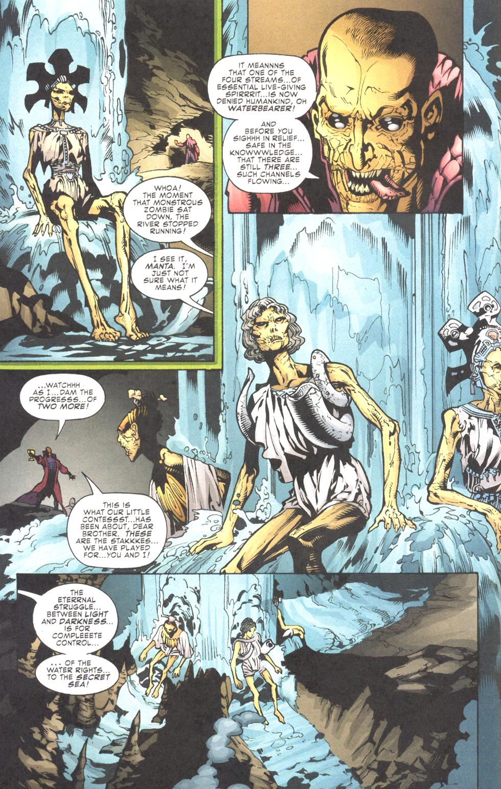 Read online Aquaman (2003) comic -  Issue #11 - 12