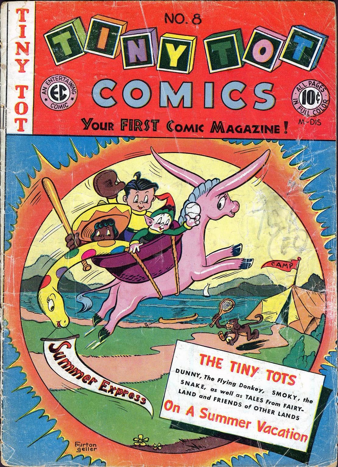Tiny Tot Comics 8 Page 1
