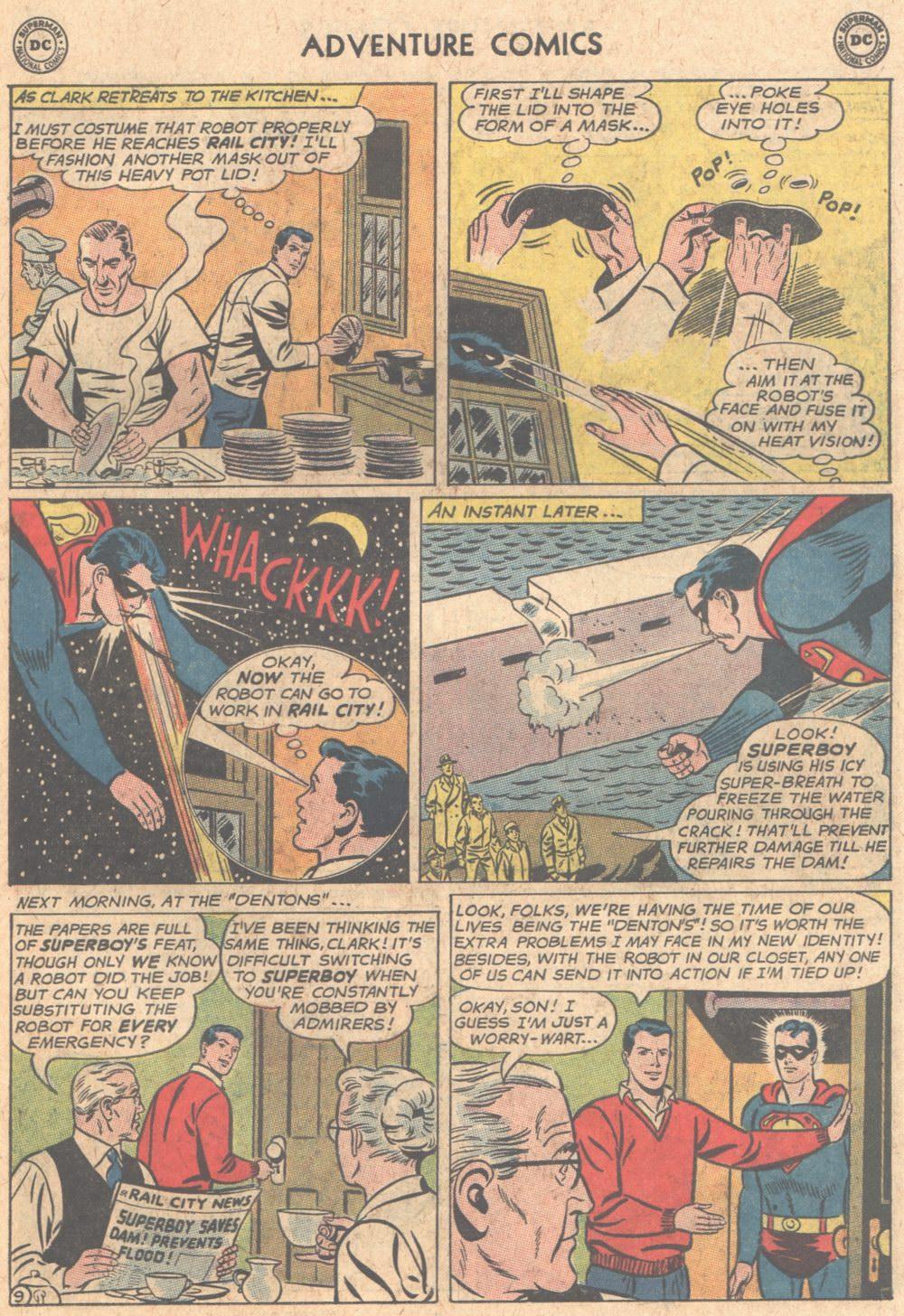 Read online Adventure Comics (1938) comic -  Issue #305 - 10