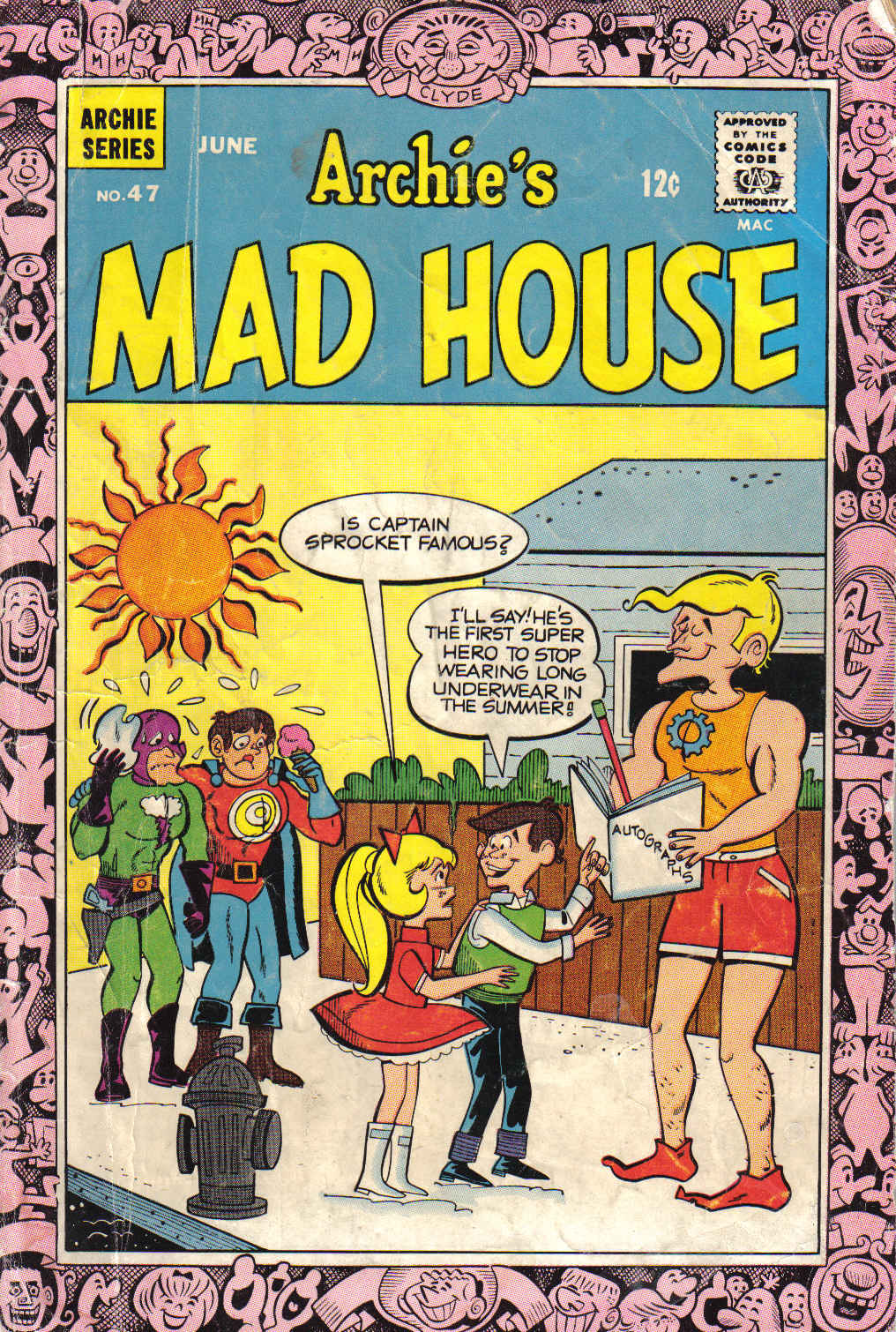 Archie's Madhouse issue 47 - Page 1