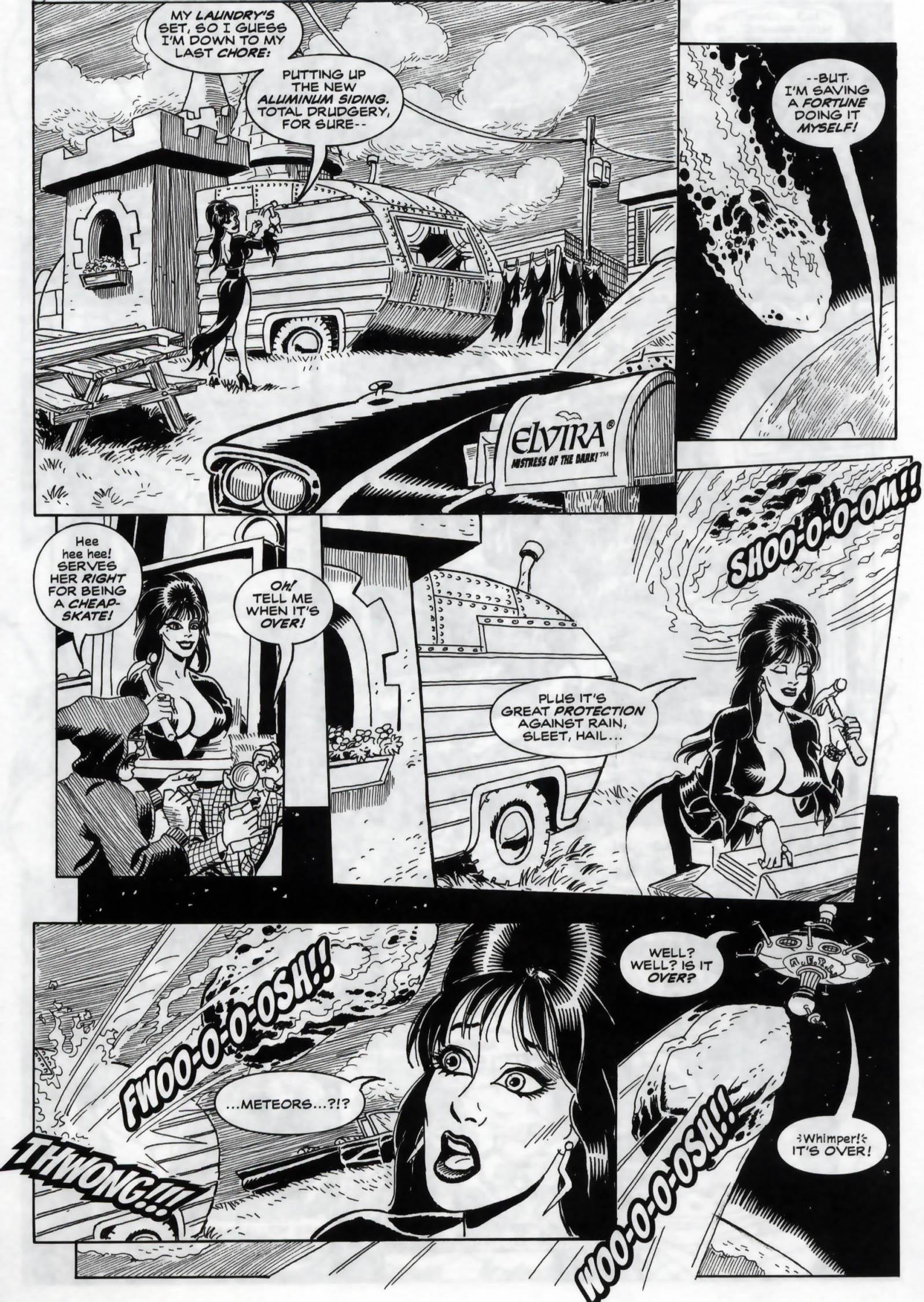 Read online Elvira, Mistress of the Dark comic -  Issue #120 - 16
