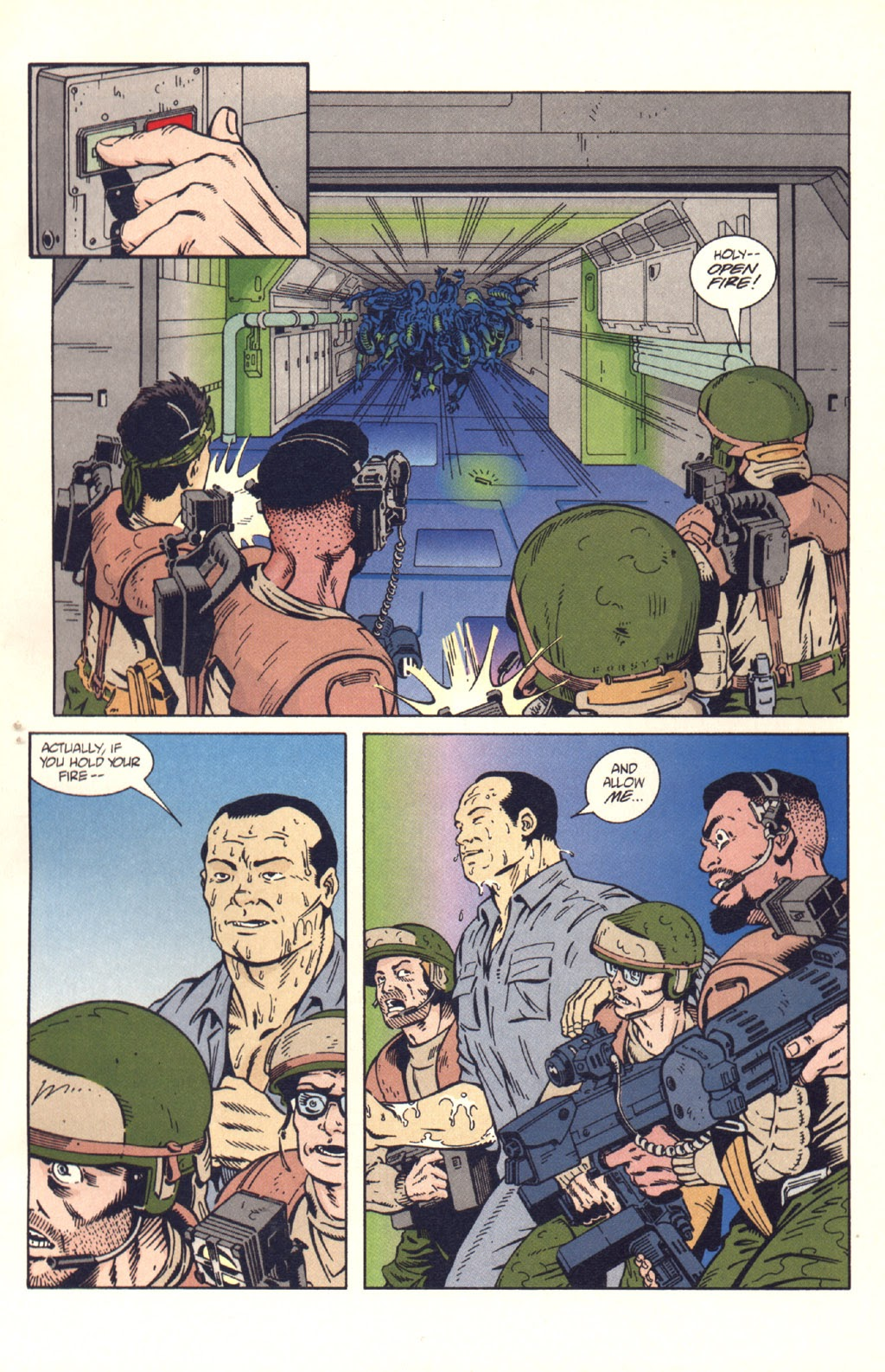 Read online Aliens: Colonial Marines comic -  Issue #9 - 5