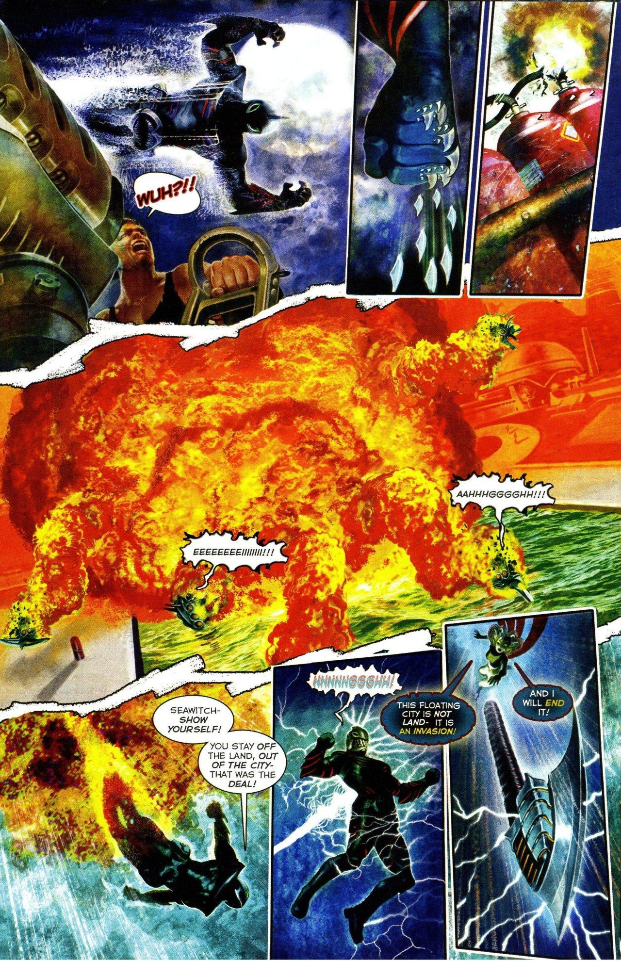 Read online Shark-Man comic -  Issue #3 - 10