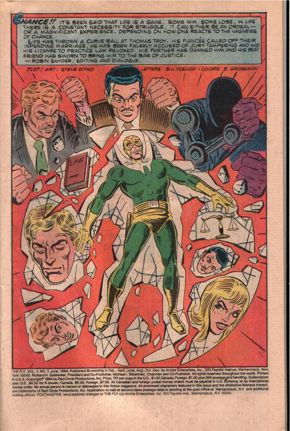 Read online The Fly (1983) comic -  Issue #7 - 2