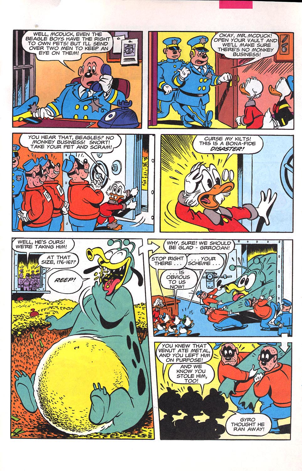 Read online Uncle Scrooge (1953) comic -  Issue #294 - 26