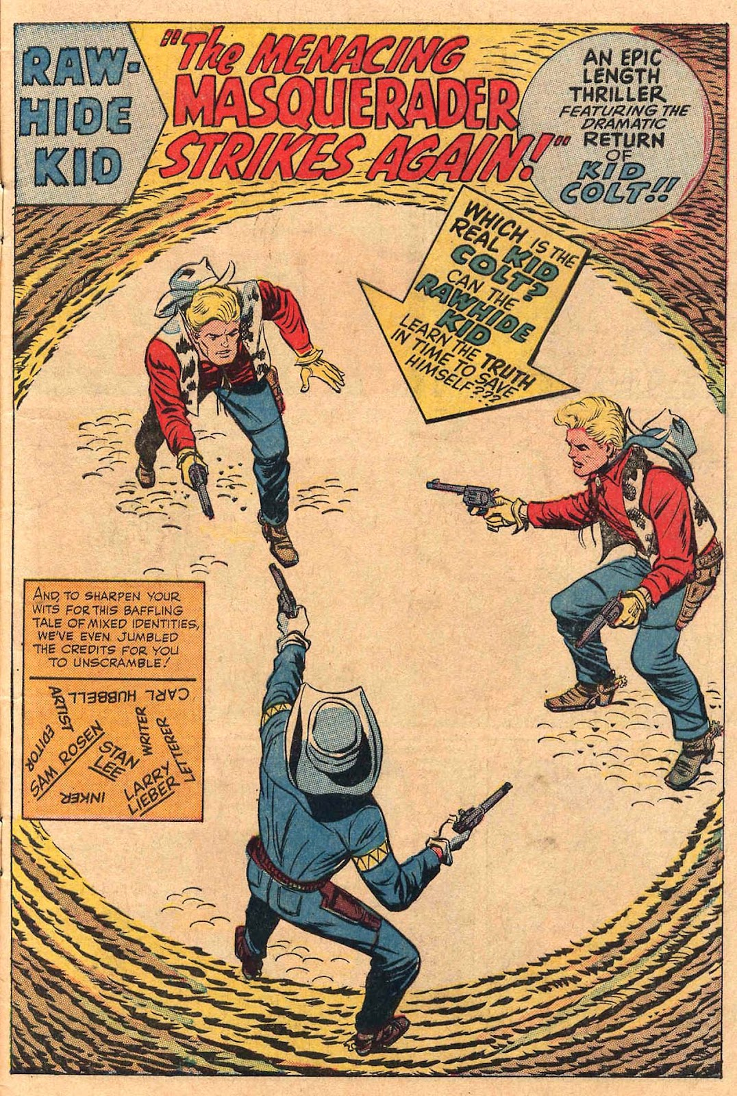 The Rawhide Kid (1955) issue 50 - Page 3