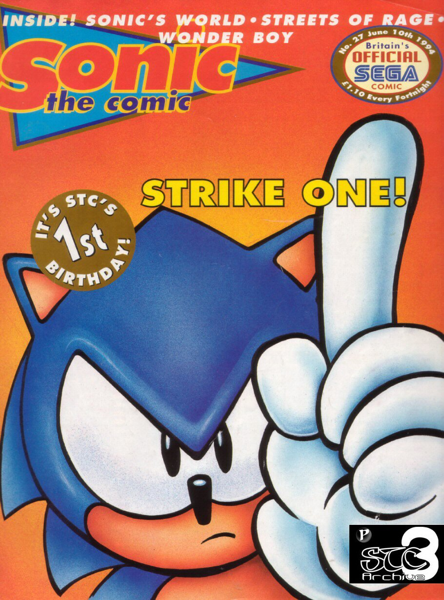 Read online Sonic the Comic comic -  Issue #27 - 1