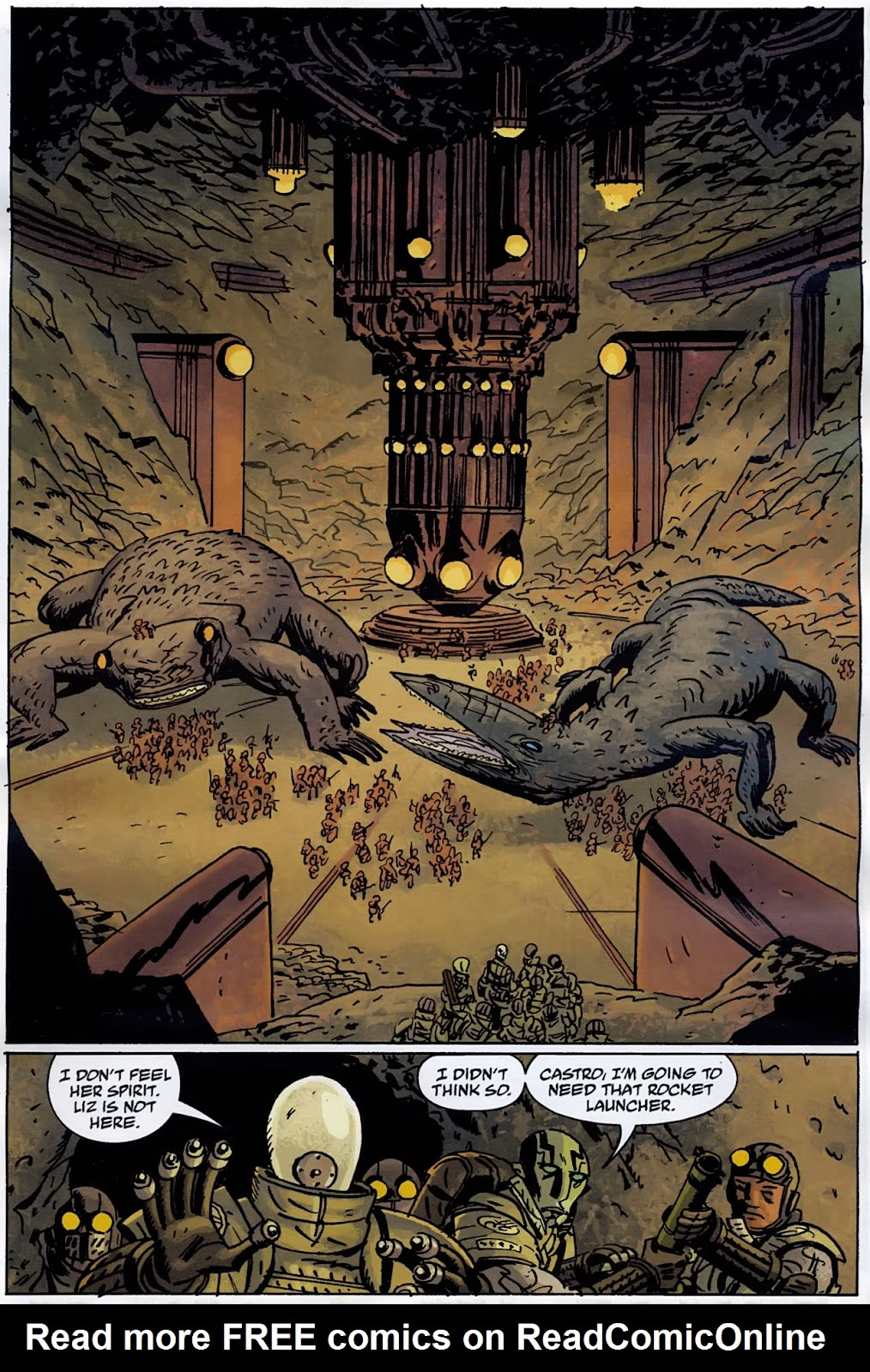 B.P.R.D.: The Warning issue 4 - Page 17
