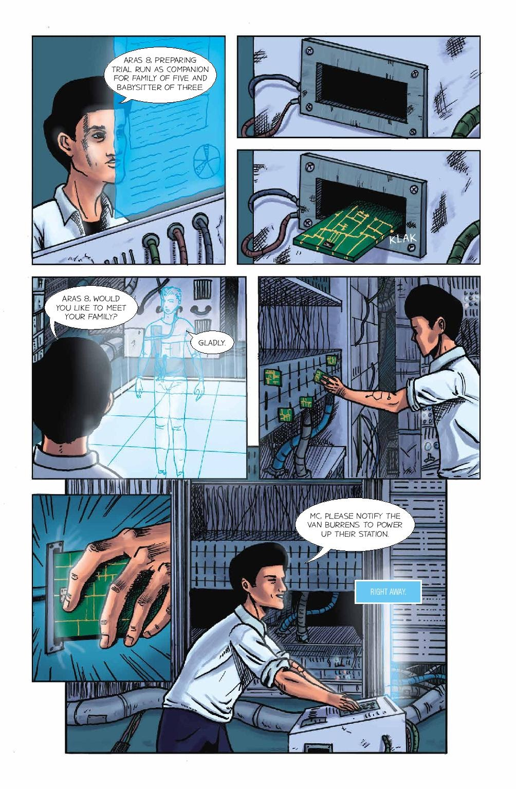 Read online Wolvv comic -  Issue #1 - 15