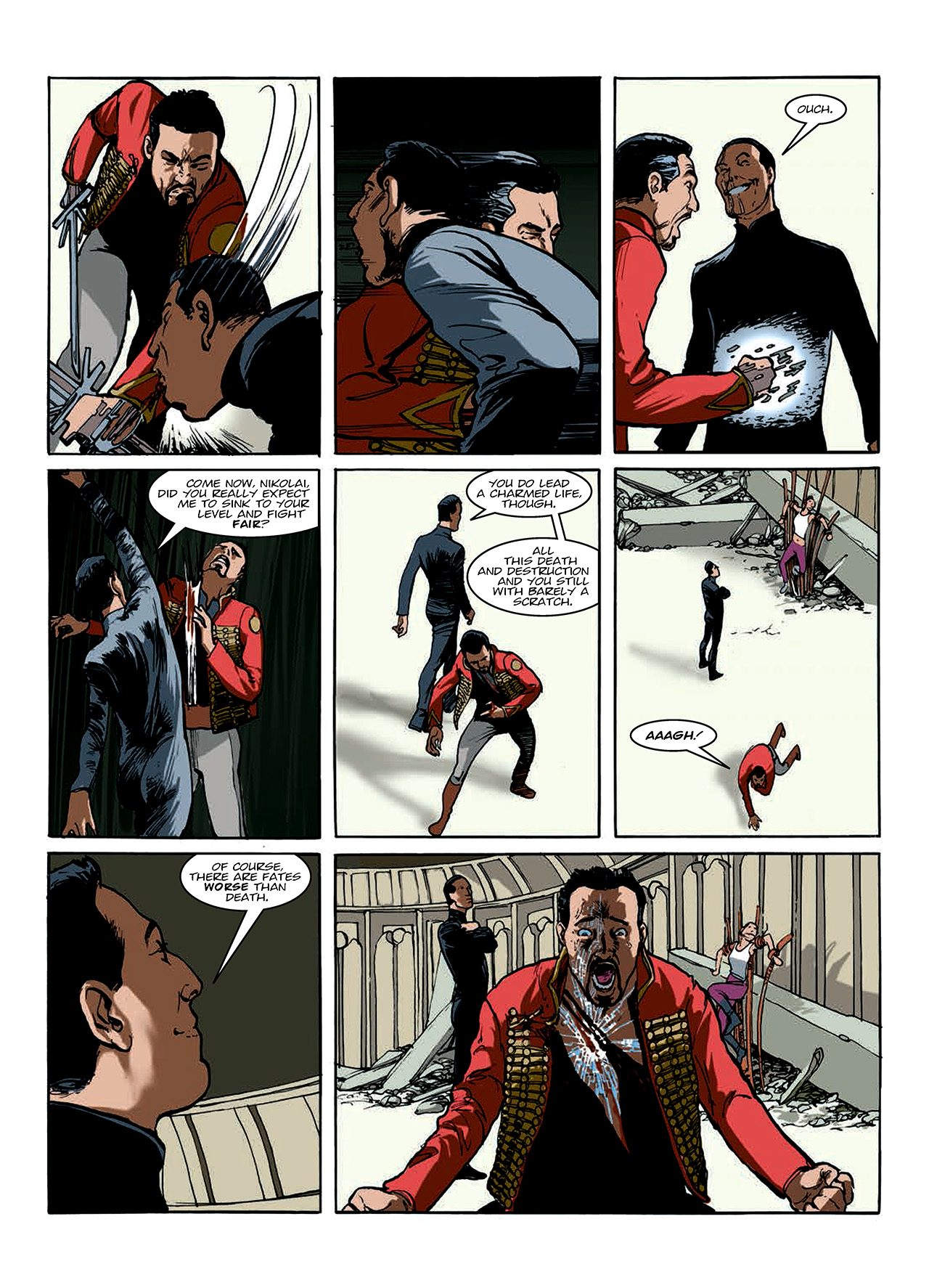 Read online Nikolai Dante comic -  Issue # TPB 10 - 114