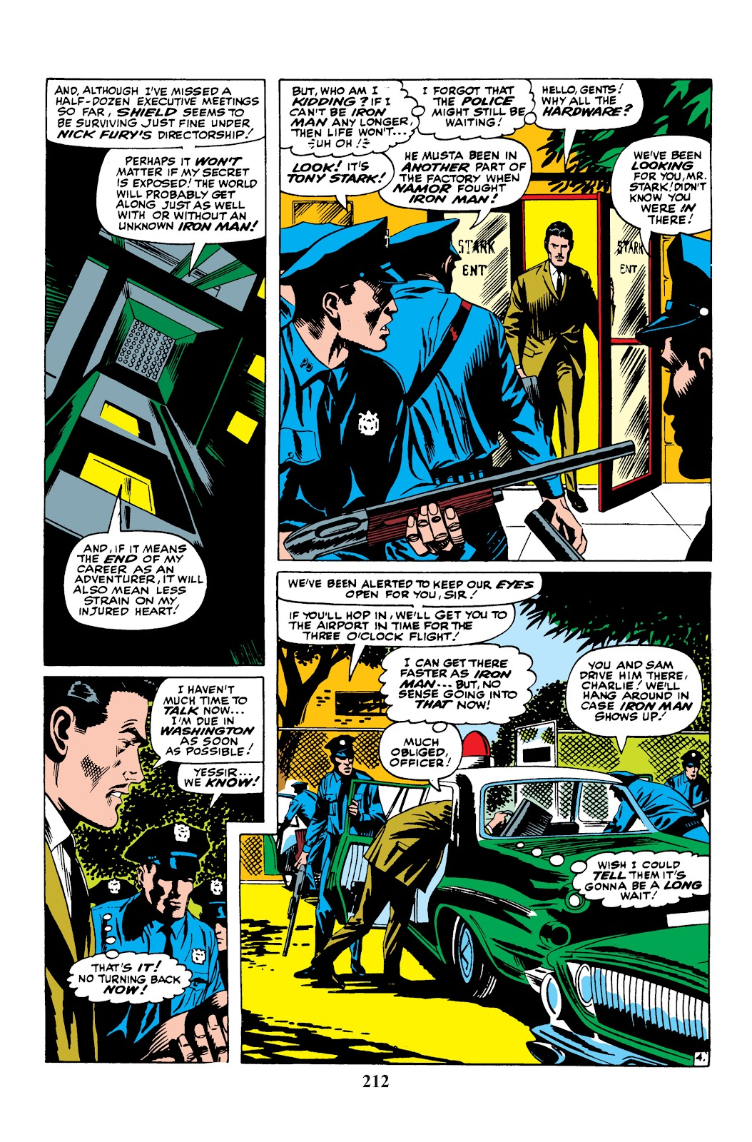 Read online Marvel Masterworks: The Invincible Iron Man comic -  Issue # TPB 3 (Part 4) - 52
