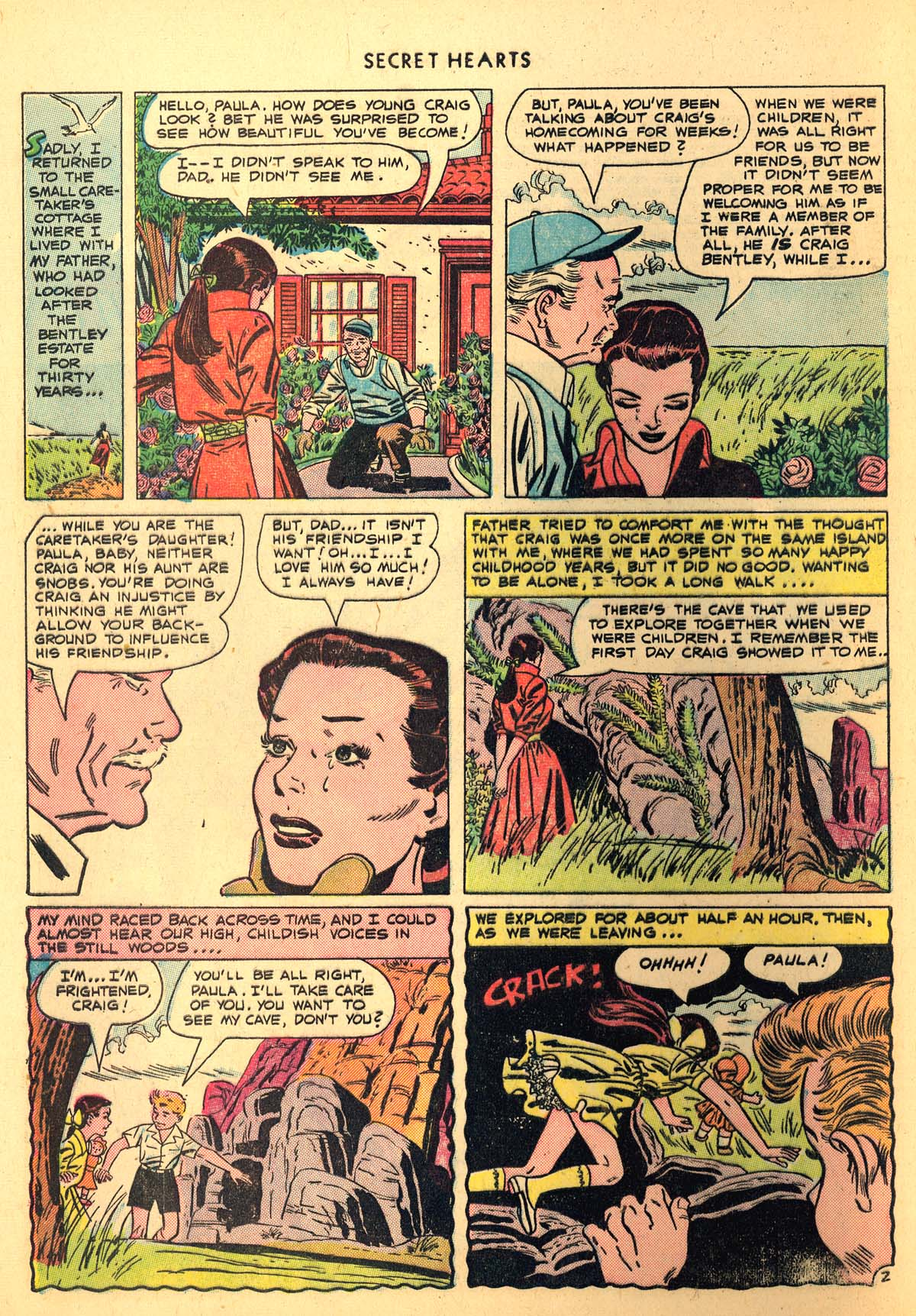 Read online Secret Hearts comic -  Issue #6 - 4