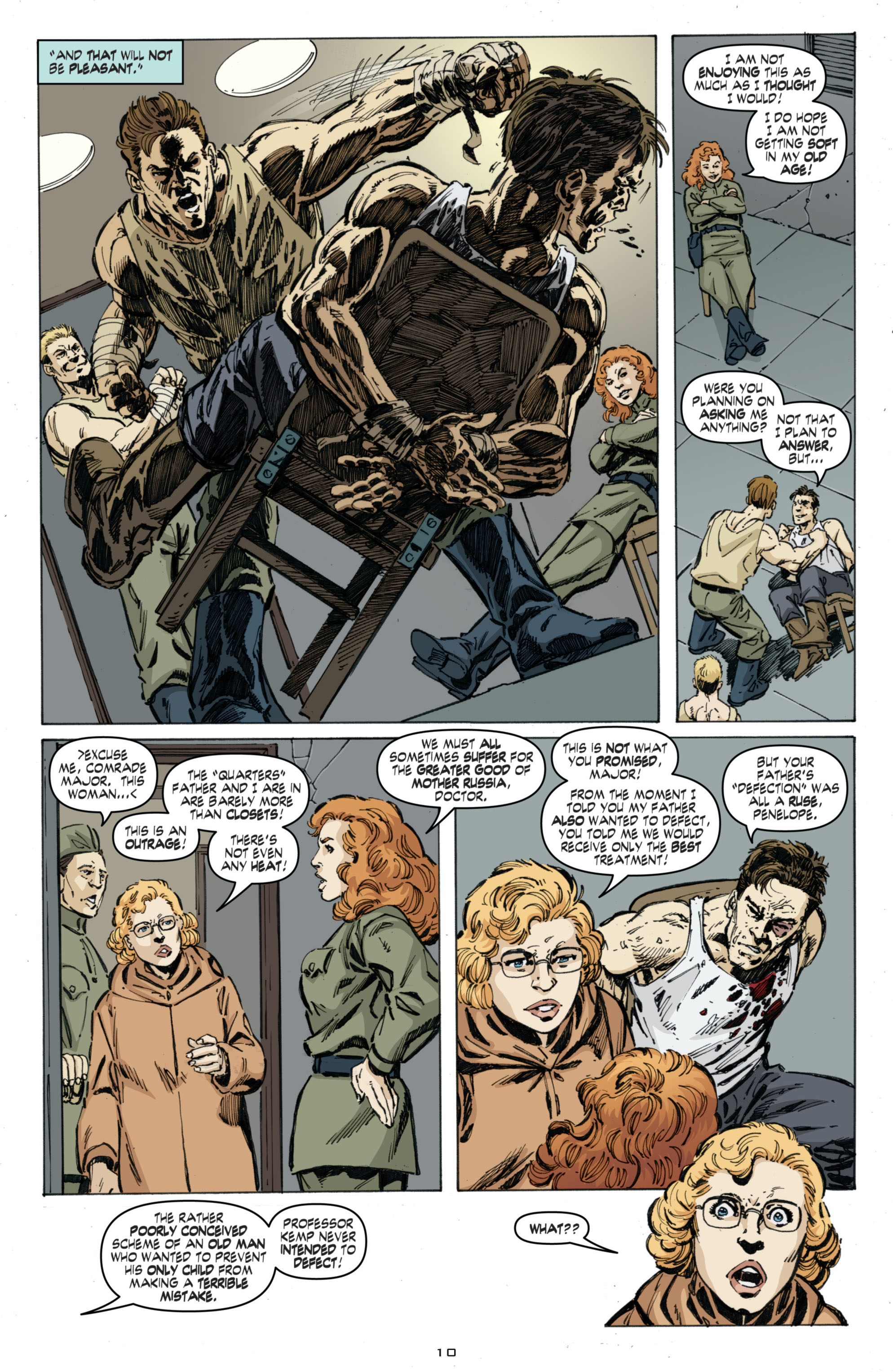 Read online Cold War comic -  Issue # TPB - 94