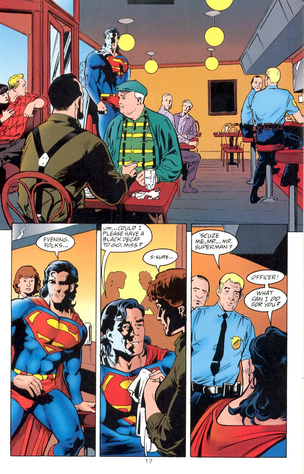 Read online Adventures of Superman (1987) comic -  Issue #525 - 18