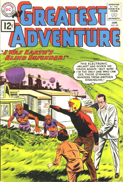 My Greatest Adventure (1955) issue 63 - Page 1