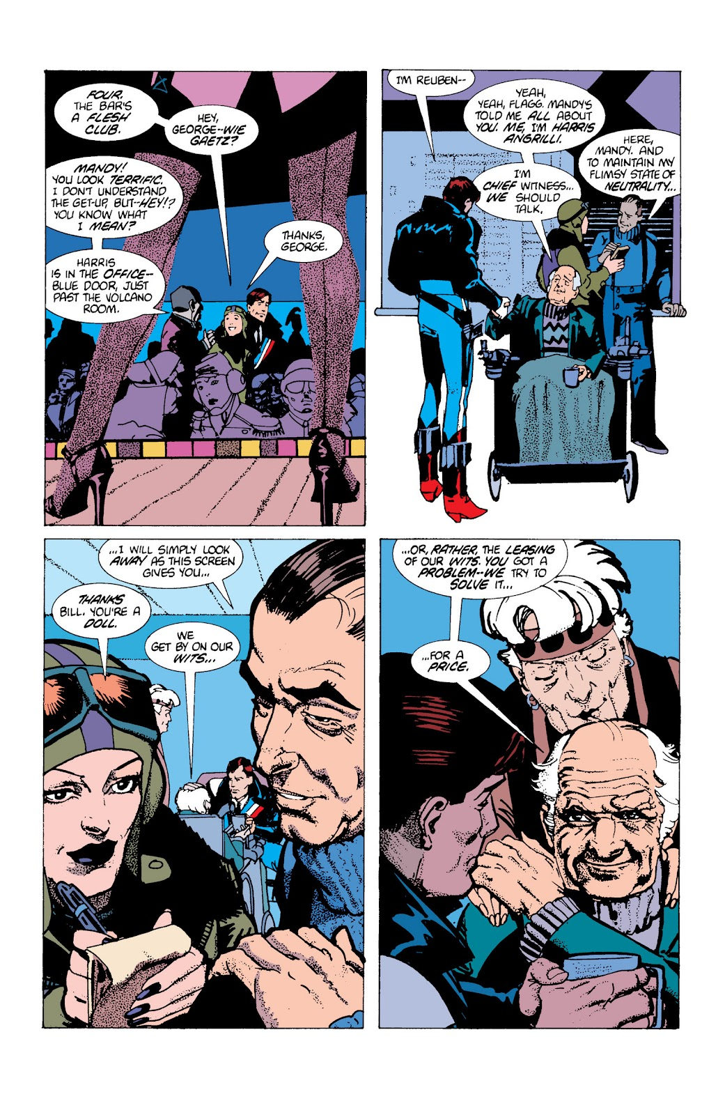 American Flagg! issue Definitive Collection (Part 1) - Page 90