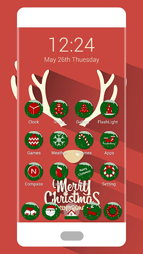 Merry Christmas Icon Pack