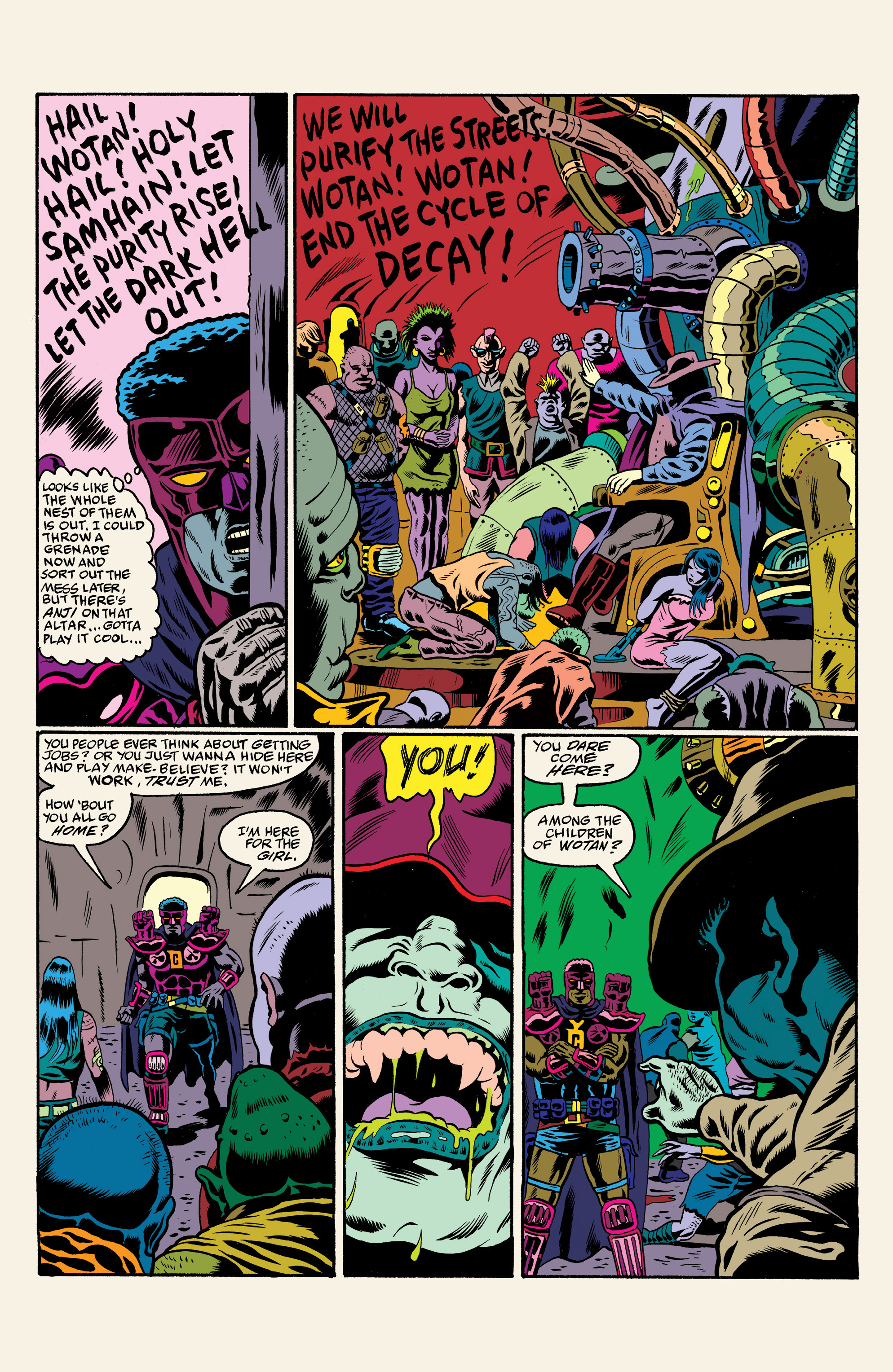 Read online All Time Comics: Crime Destroyer comic -  Issue #1 - 14